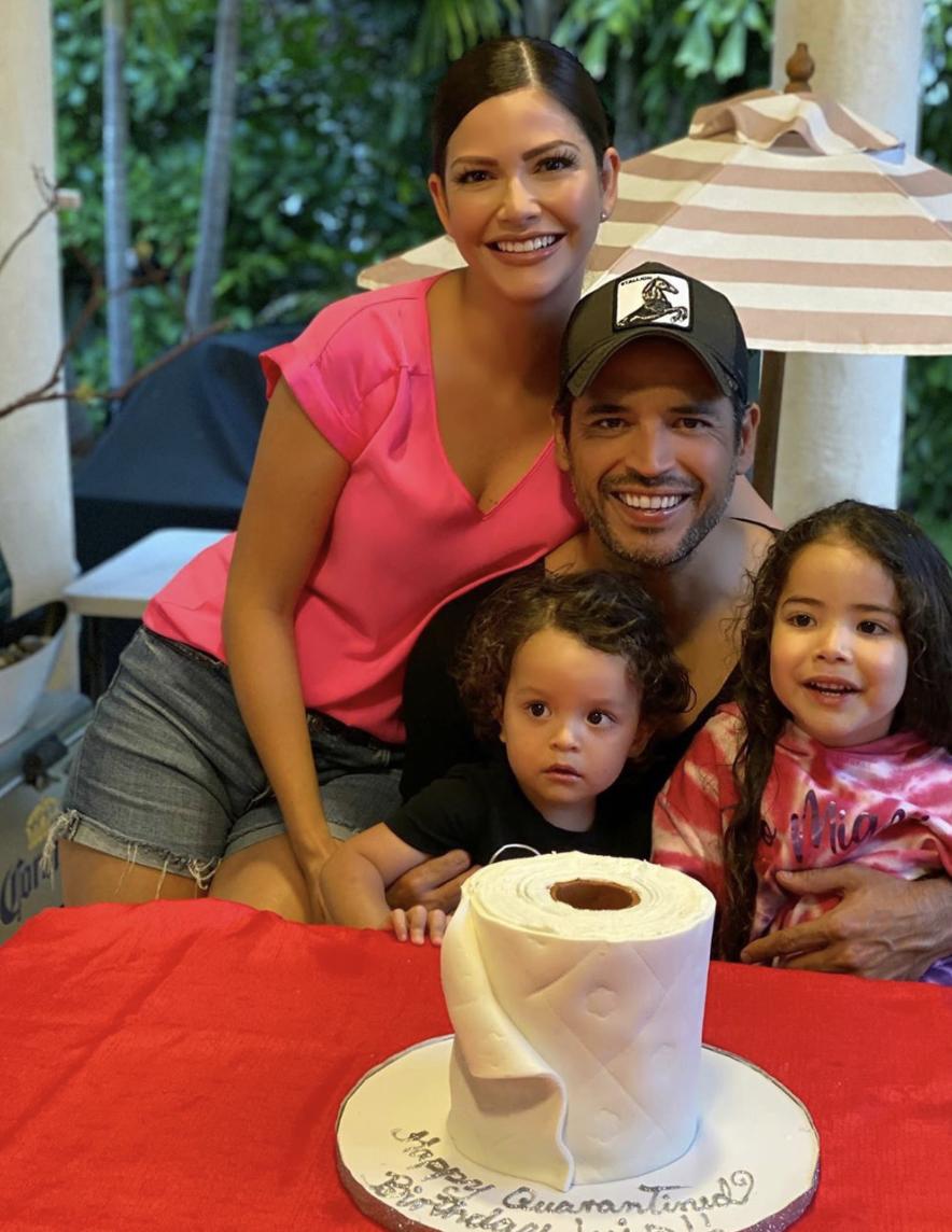 El cumpleaños del esposo de Ana Patricia Gámez