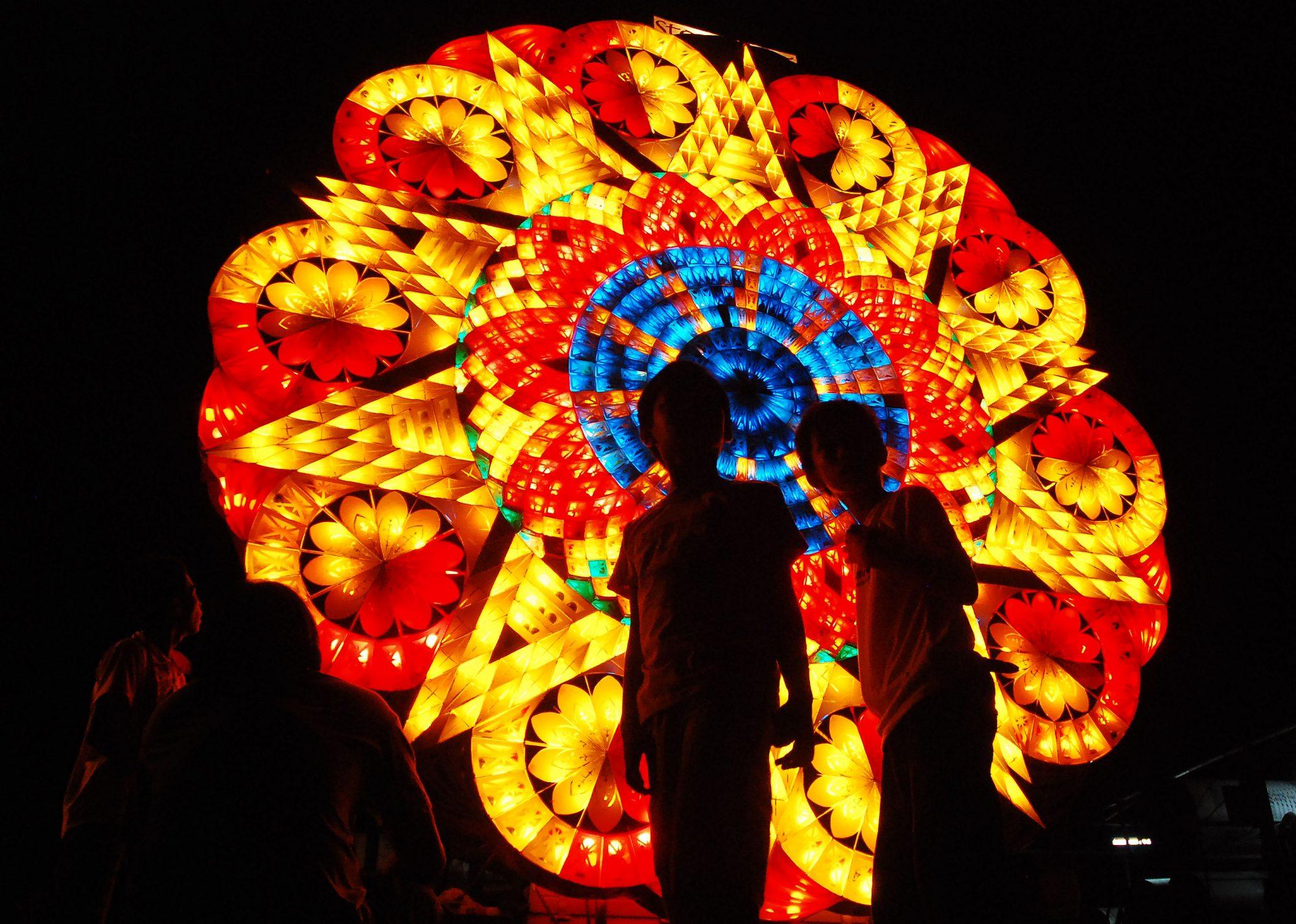 Festival de los faroles gigantes