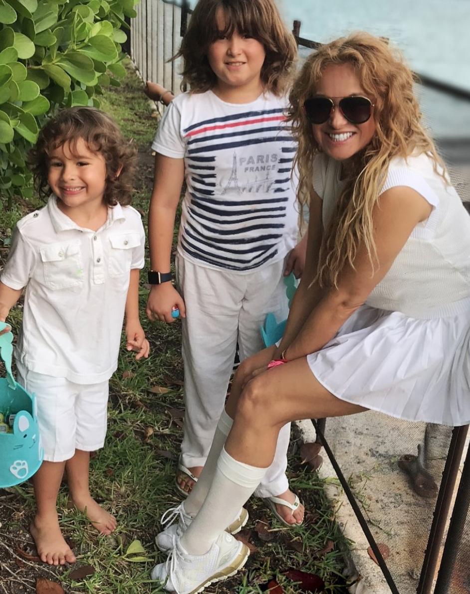 Paulina Rubio, hijos