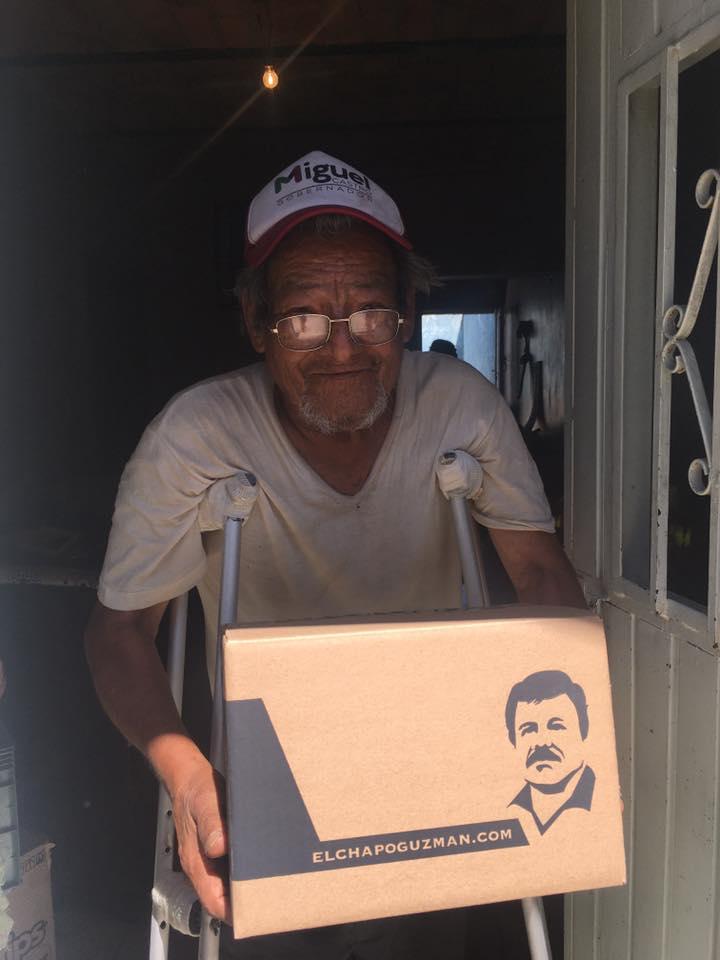 El Chapo Guzmán despensa Coronavirus