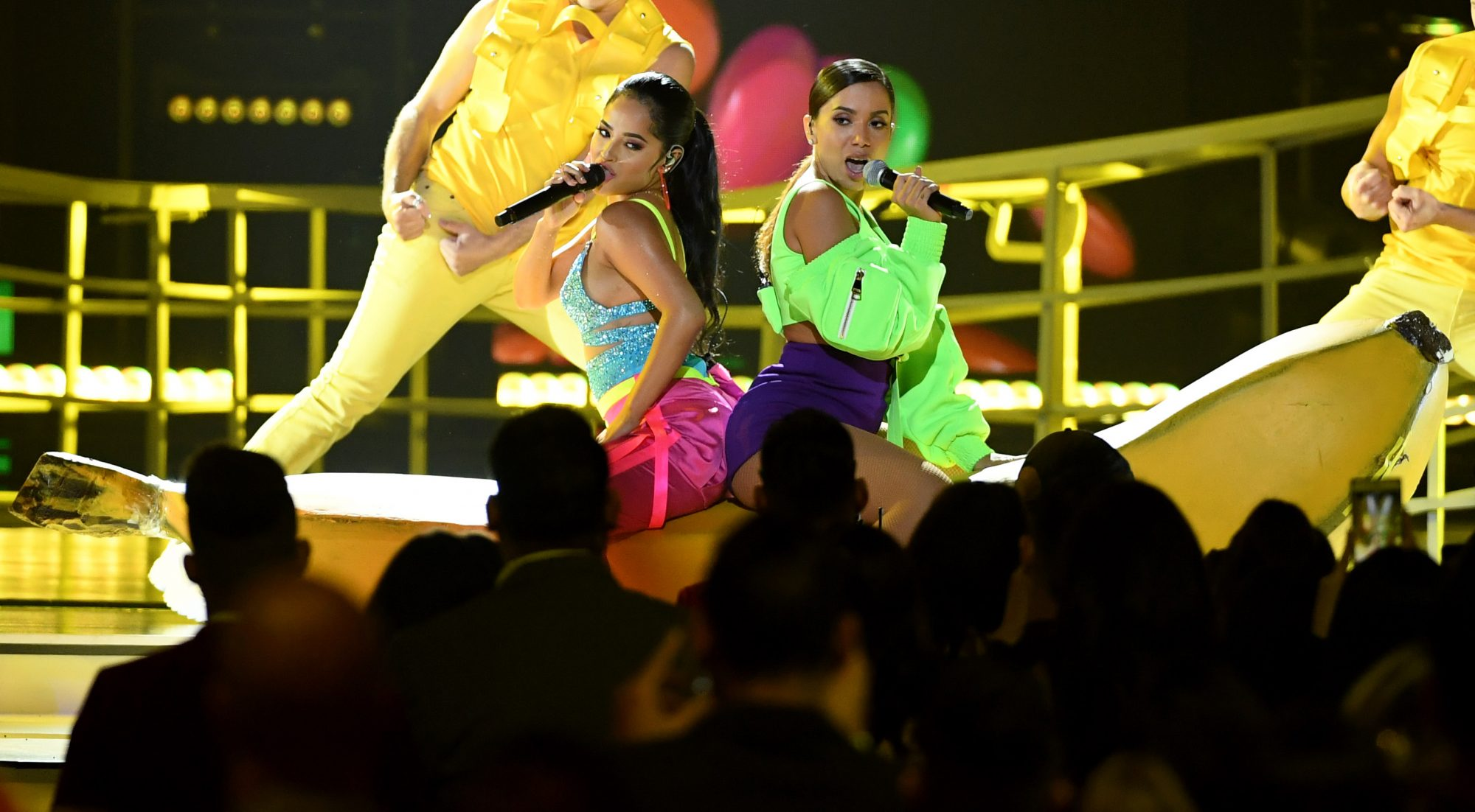 Anitta and Becky G