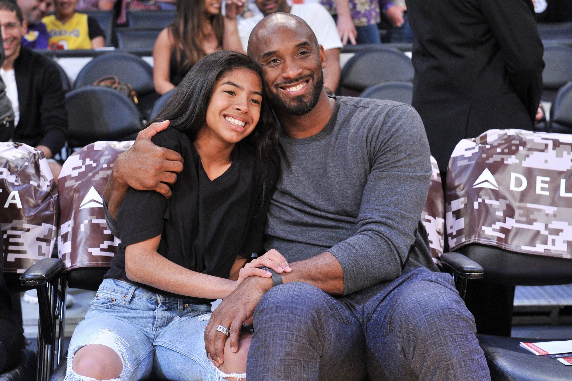 Kobe Bryant and his daughter Gianna Bryant