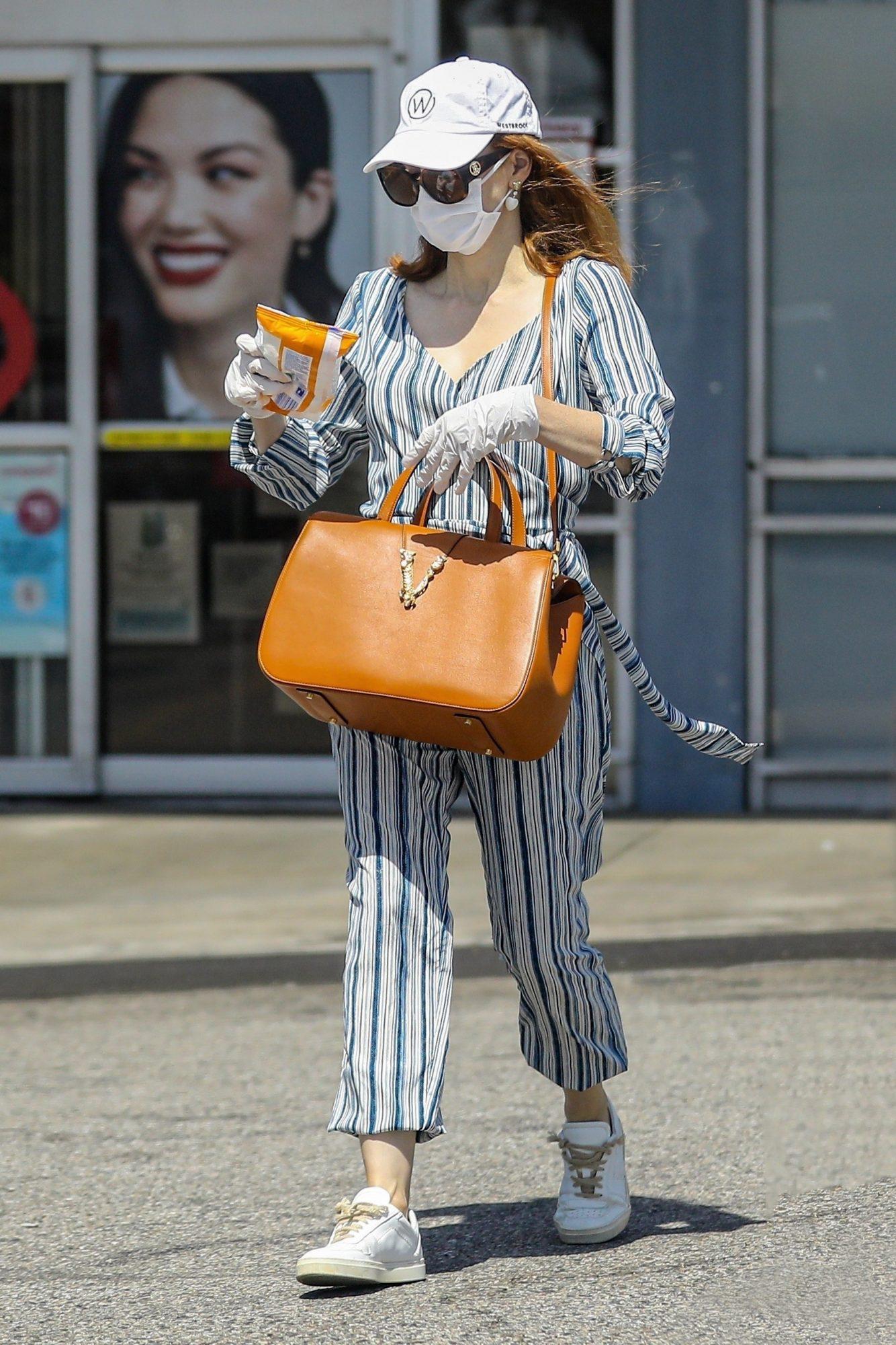 Jessica Chastain, look, cuarentena