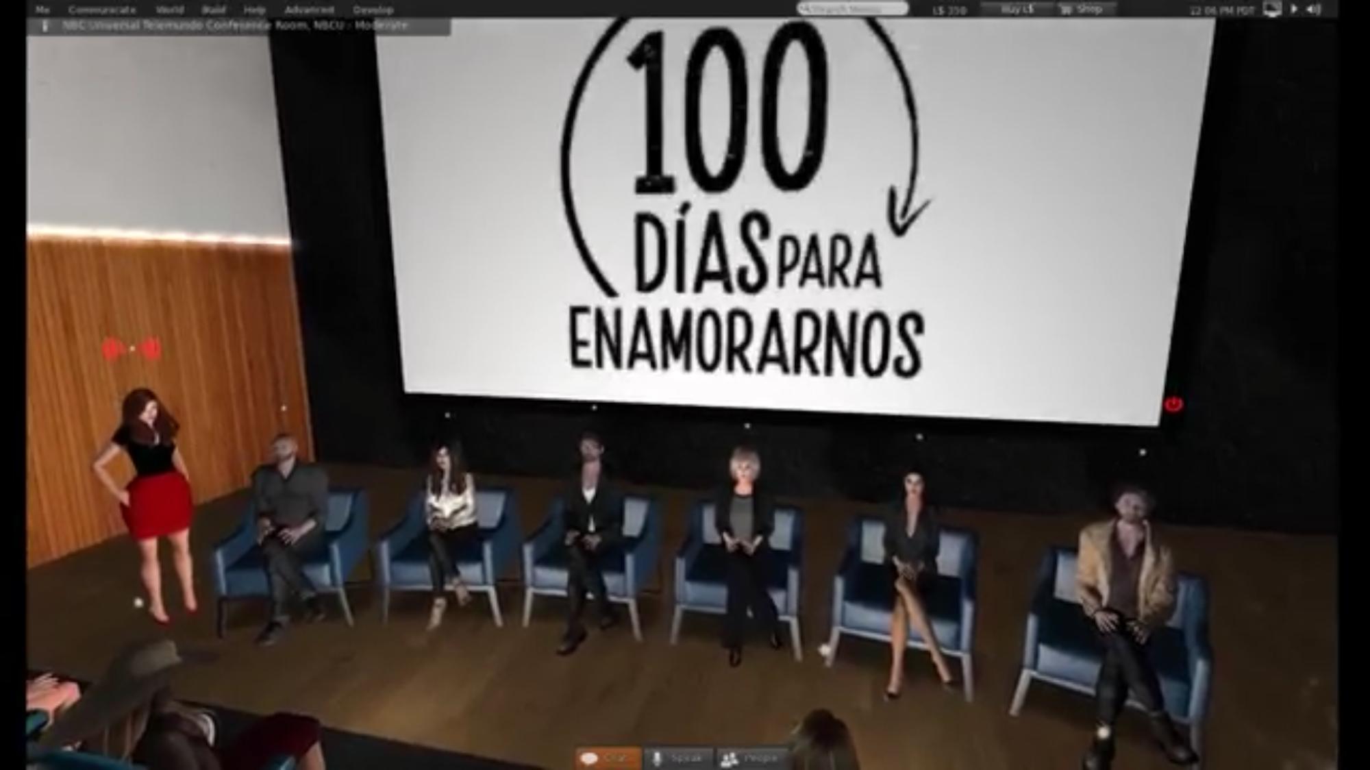 Avatares de los protagonistas de 100 días para enamorarnos
