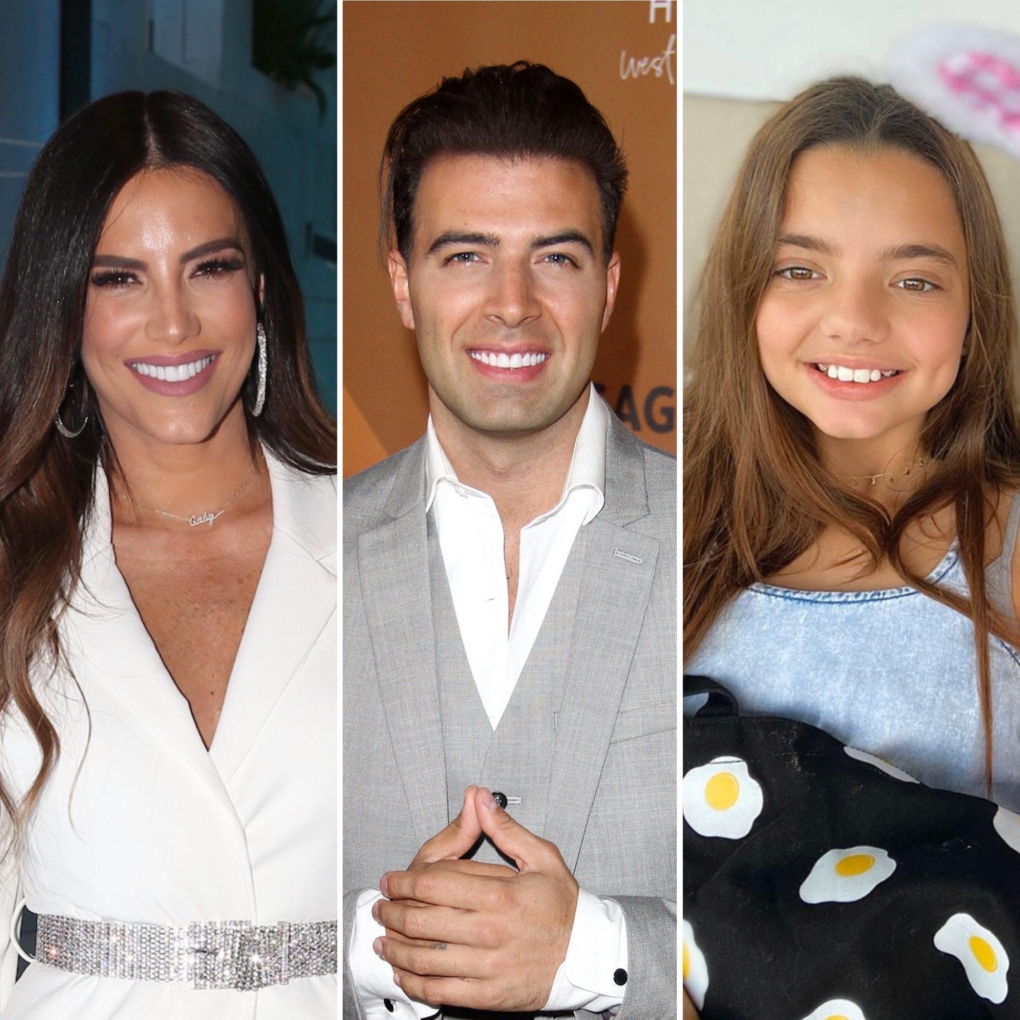 Gaby Espino, Jencarlos Canela y Oriana