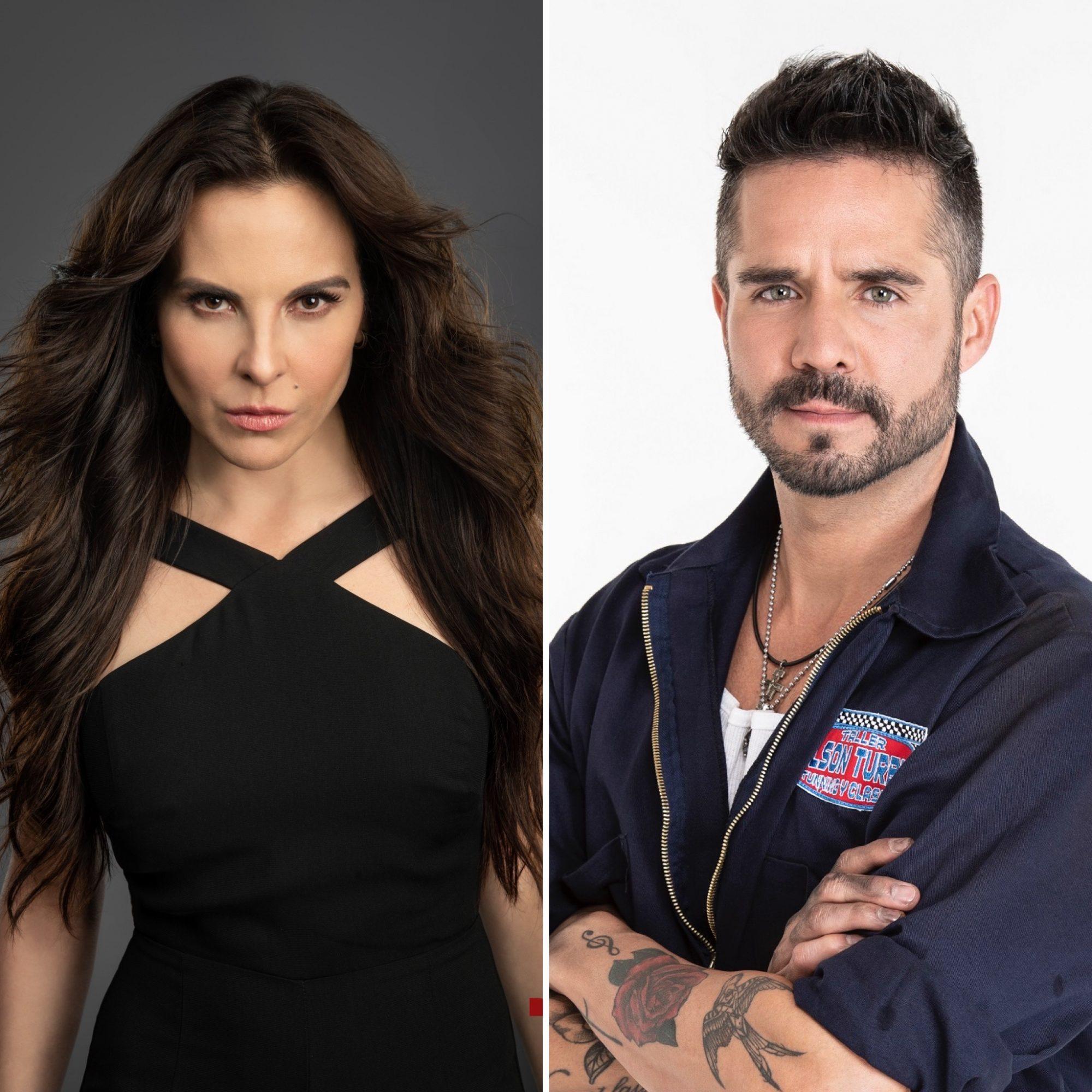 Kate del Castillo y José Ron
