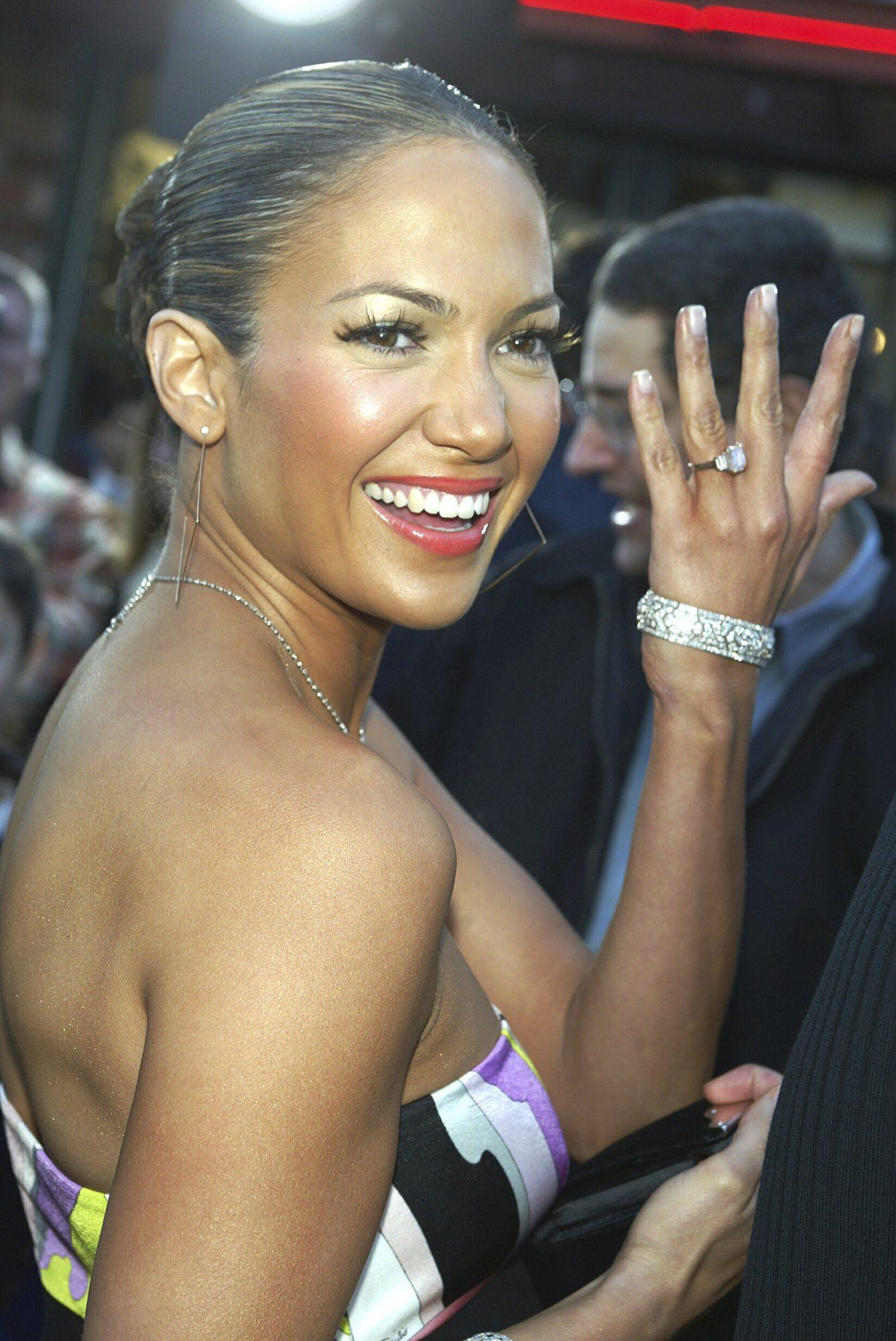 Jennifer López, anillo de compromiso