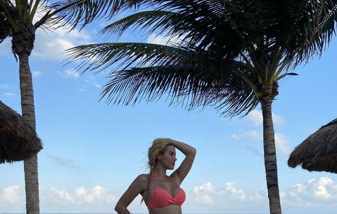 La actriz mexicana Yulianna Peniche