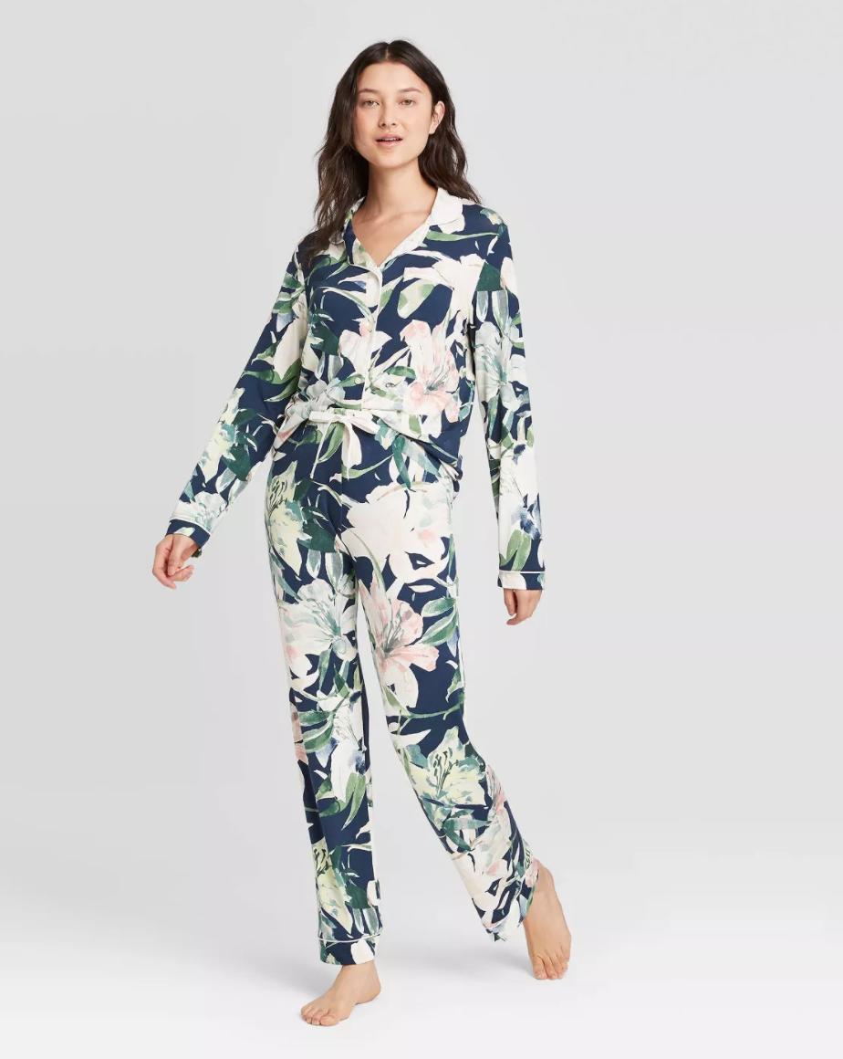 pijamas, estampada, cuarentena