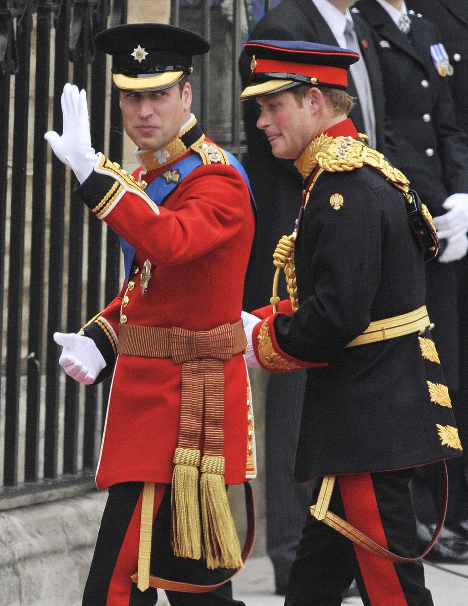 Príncipe Harry, William