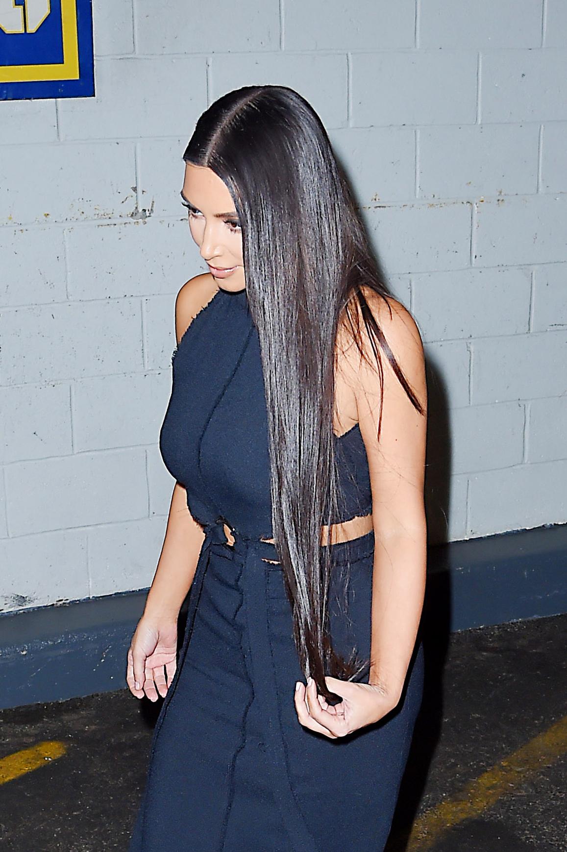 Kim kardashian, cabello, tratamiento