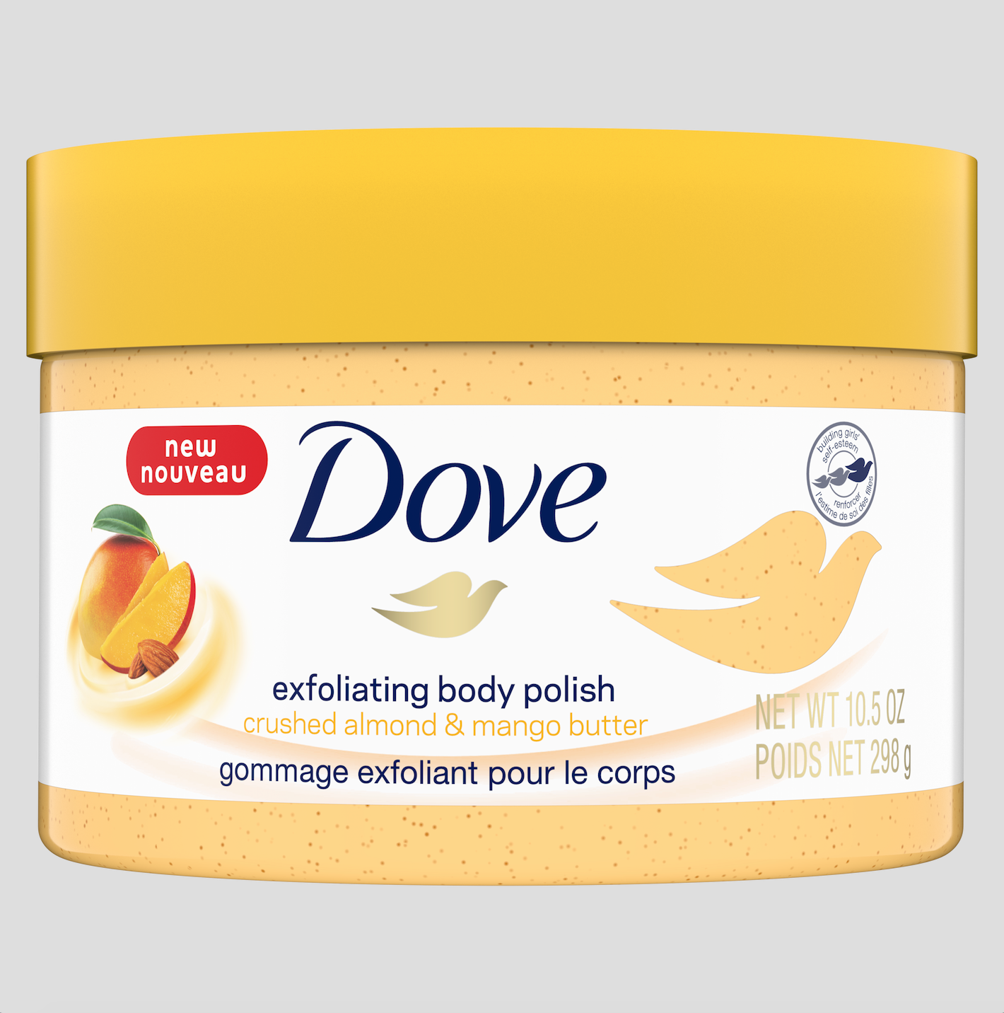 Dove body polish