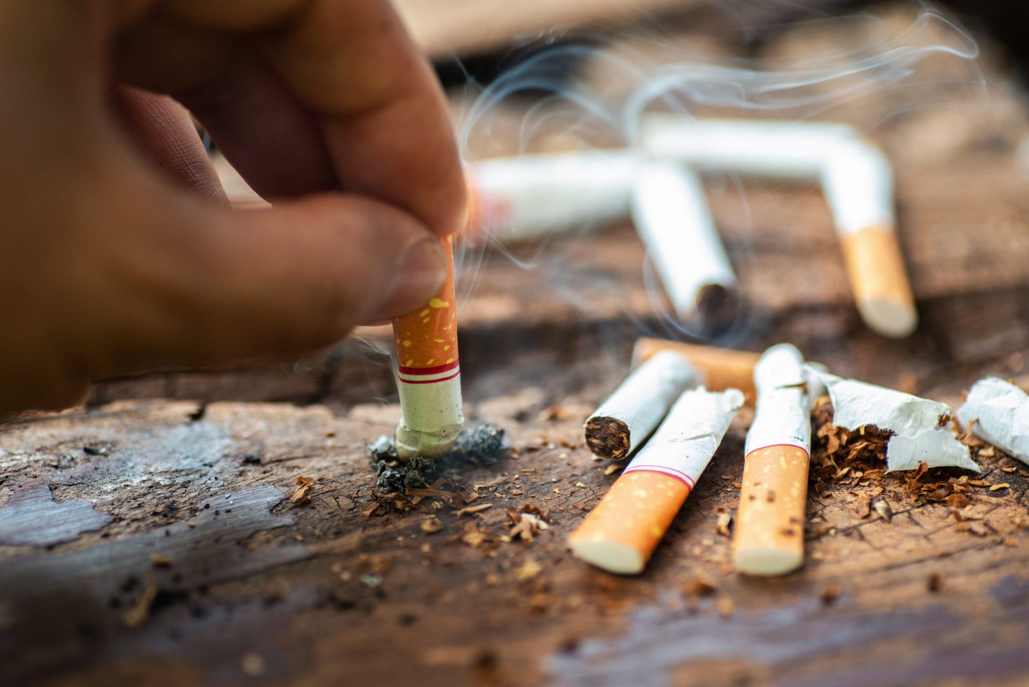 """""""Hay estudios que demuestran que si fumas eso hace que aumente la grasa visceral"""", aseguró el doctor."""