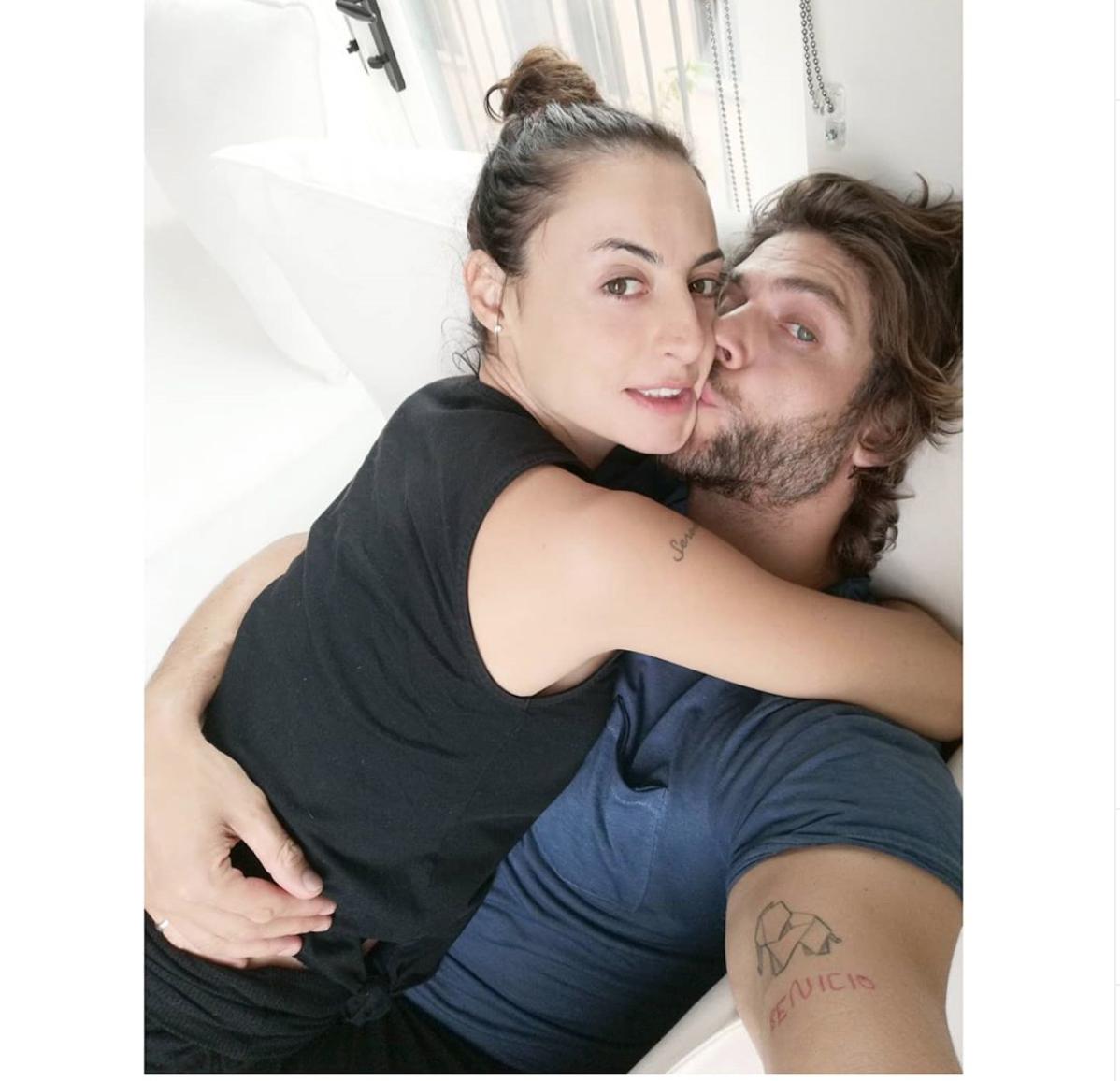 horacio pancheri con novia marimar vega cuarentena