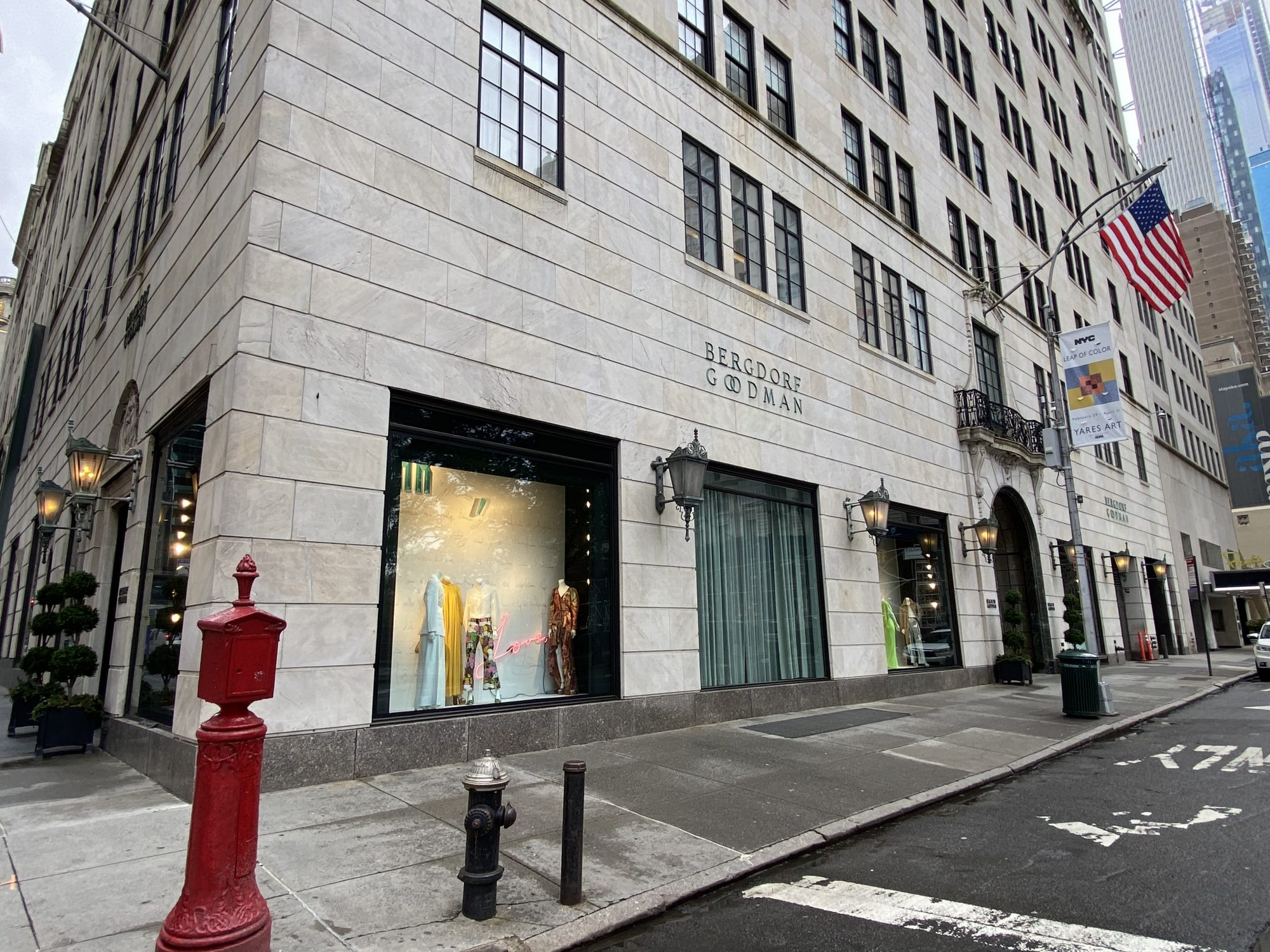Bergdorf Goodman, new york, bancarrota
