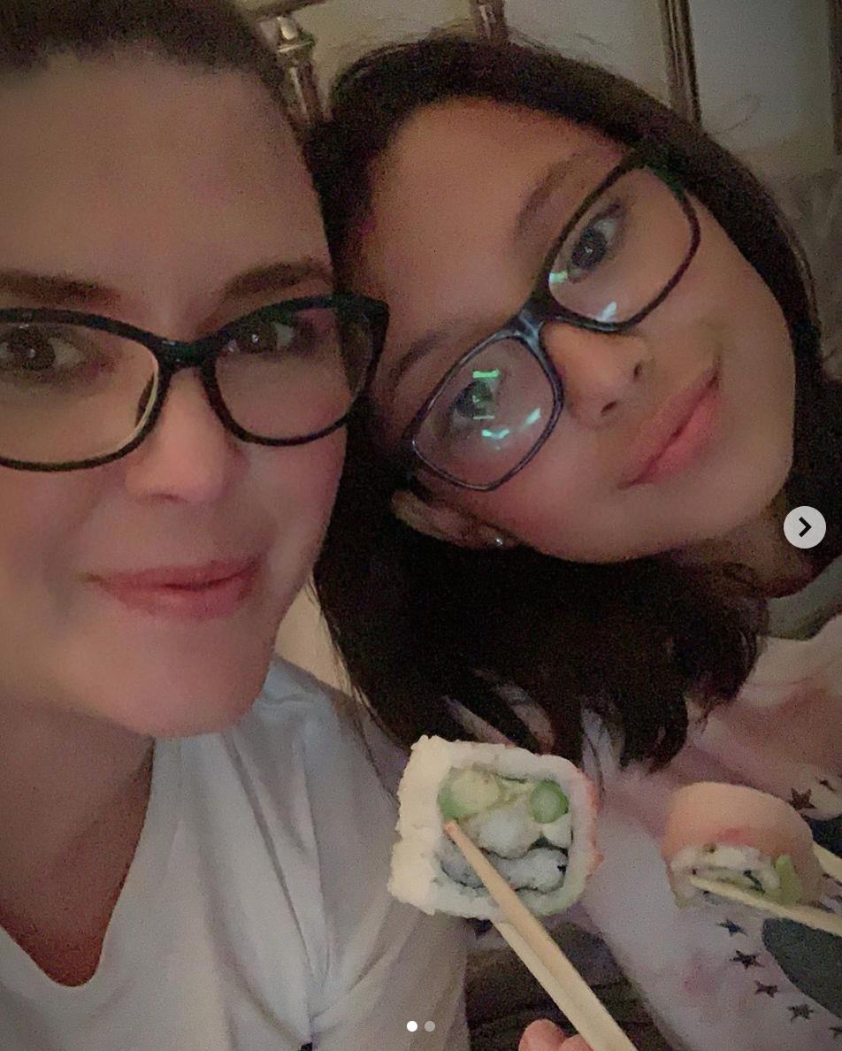 Alicia Machado con hija dia de las madres 2020