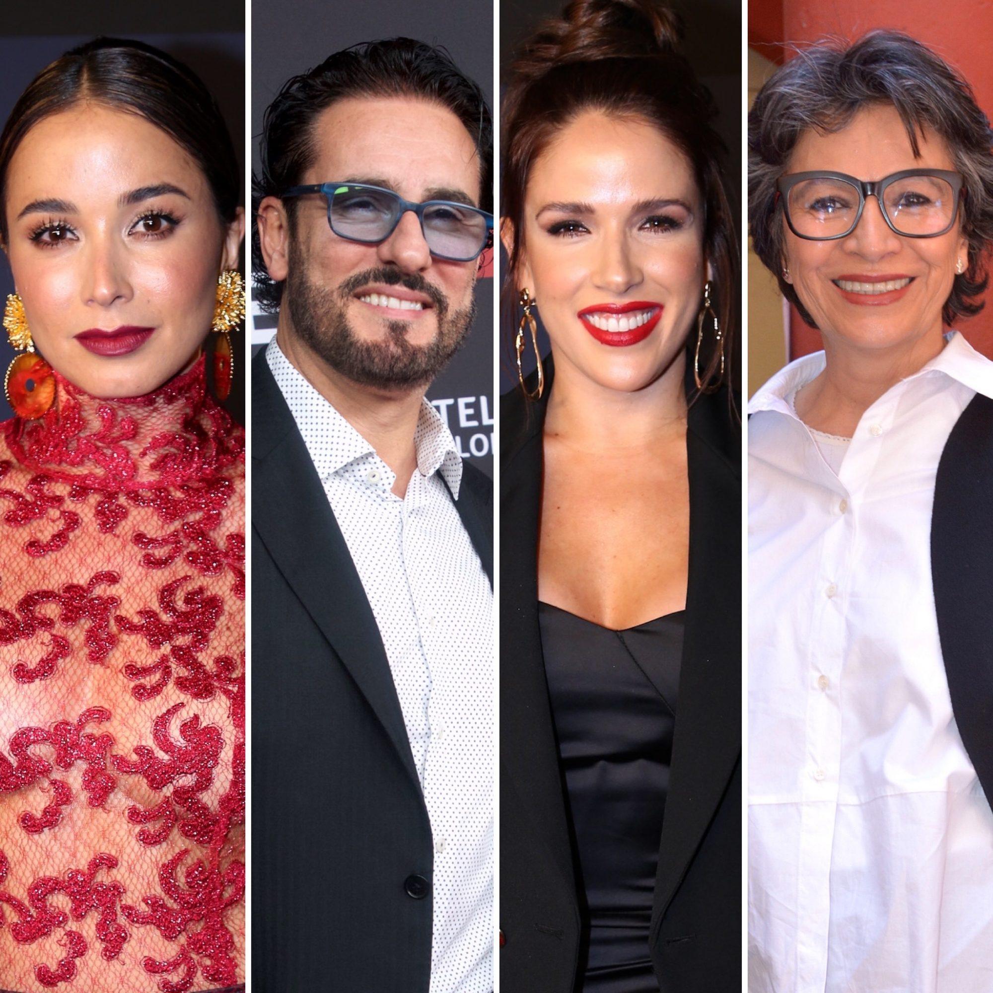 Majida Issa; Miguel Varoni, Sylvia Sáenz y Patricia Reyes Spíndola
