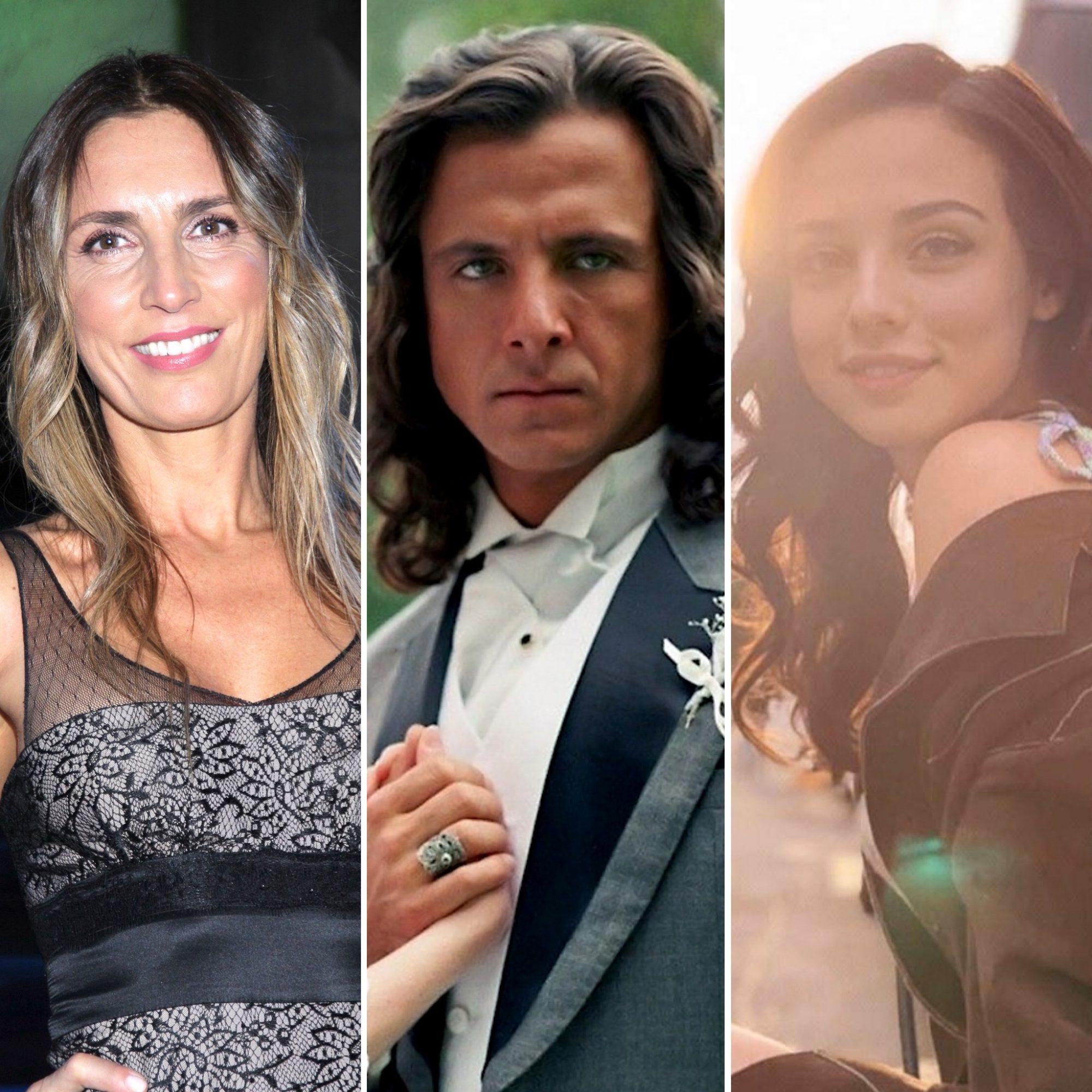 Carina Ricco, Eduardo Palomo y Fiona