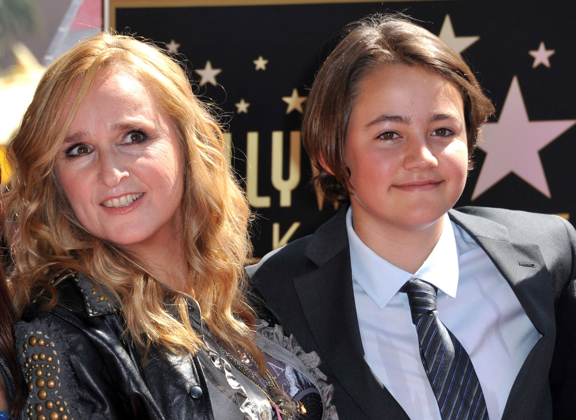 Melissa Etheridge y su hijo Beckett