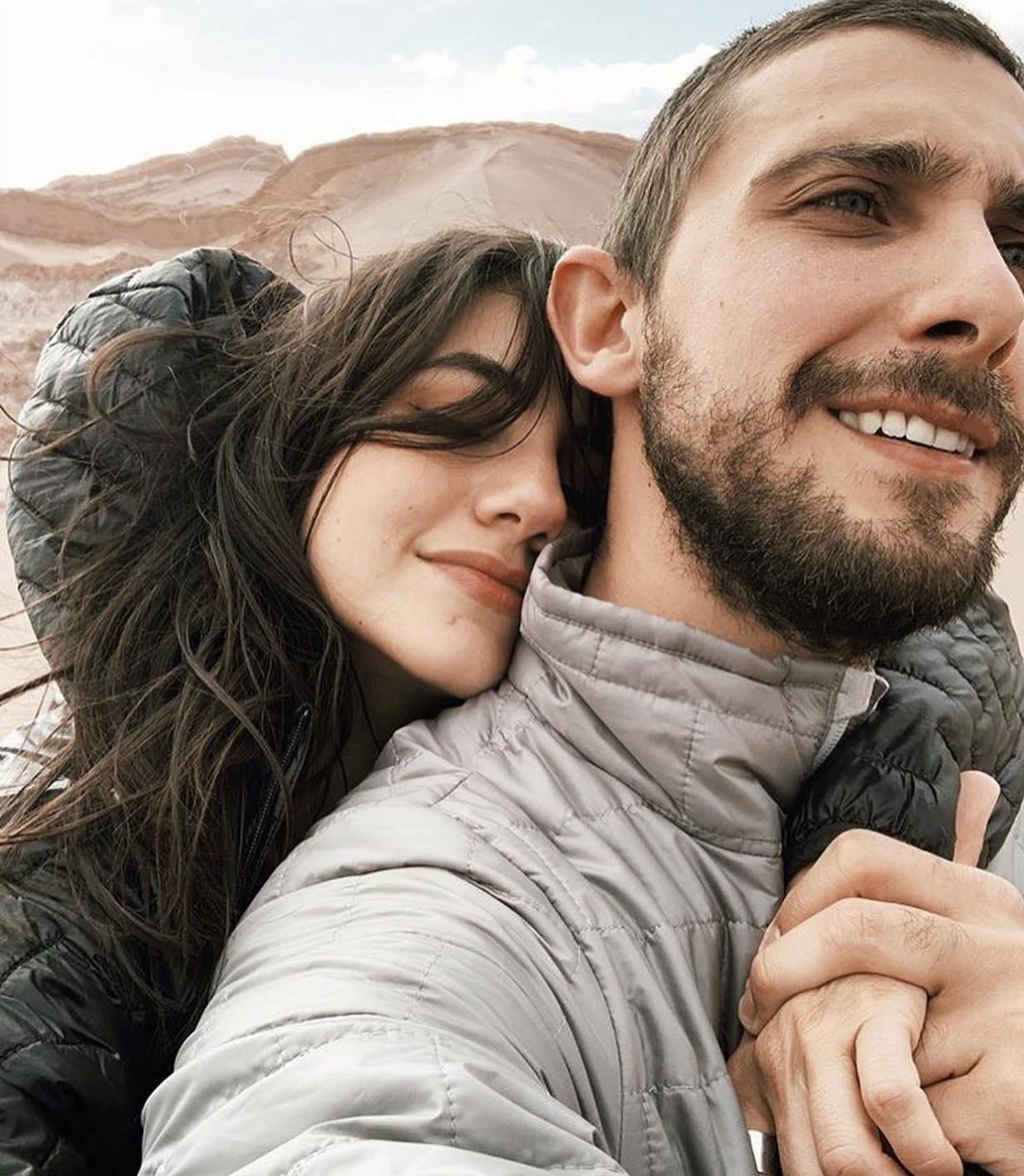 Ela Velden y Emiliano Zurita