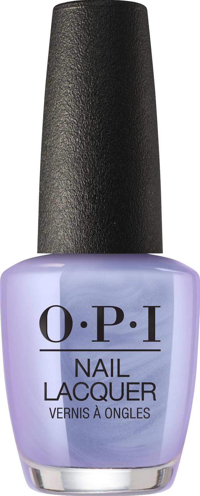 OPI purple nail polish
