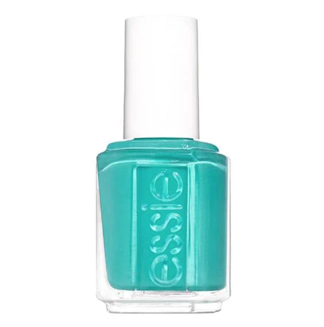Essie green nail polish