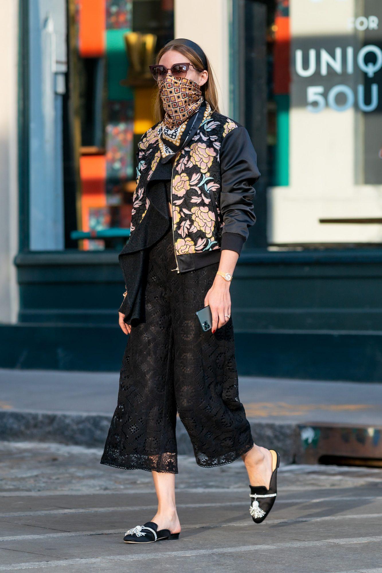 Olivia Palermo, look, cuarentena, new york
