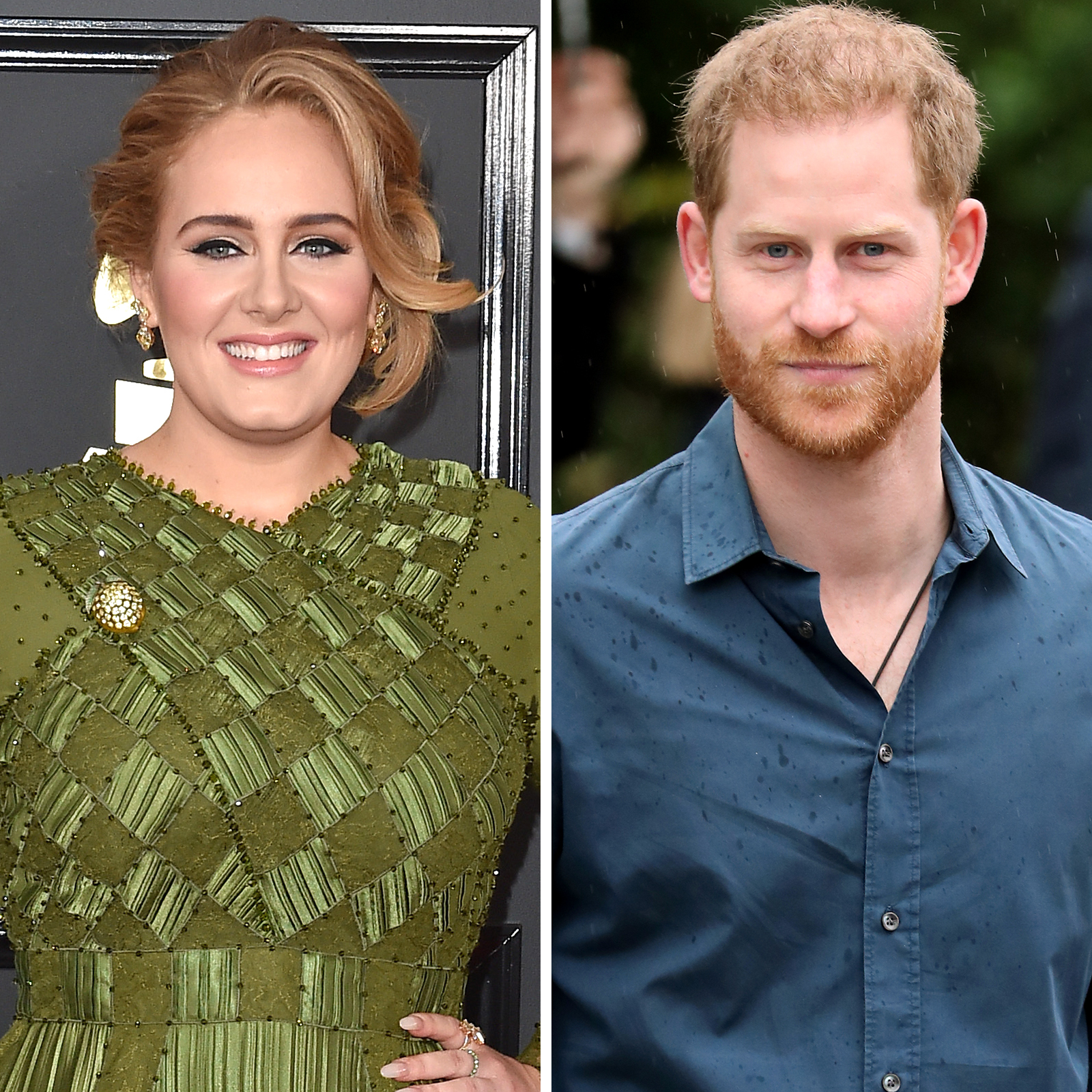 Adele y Prince Harry