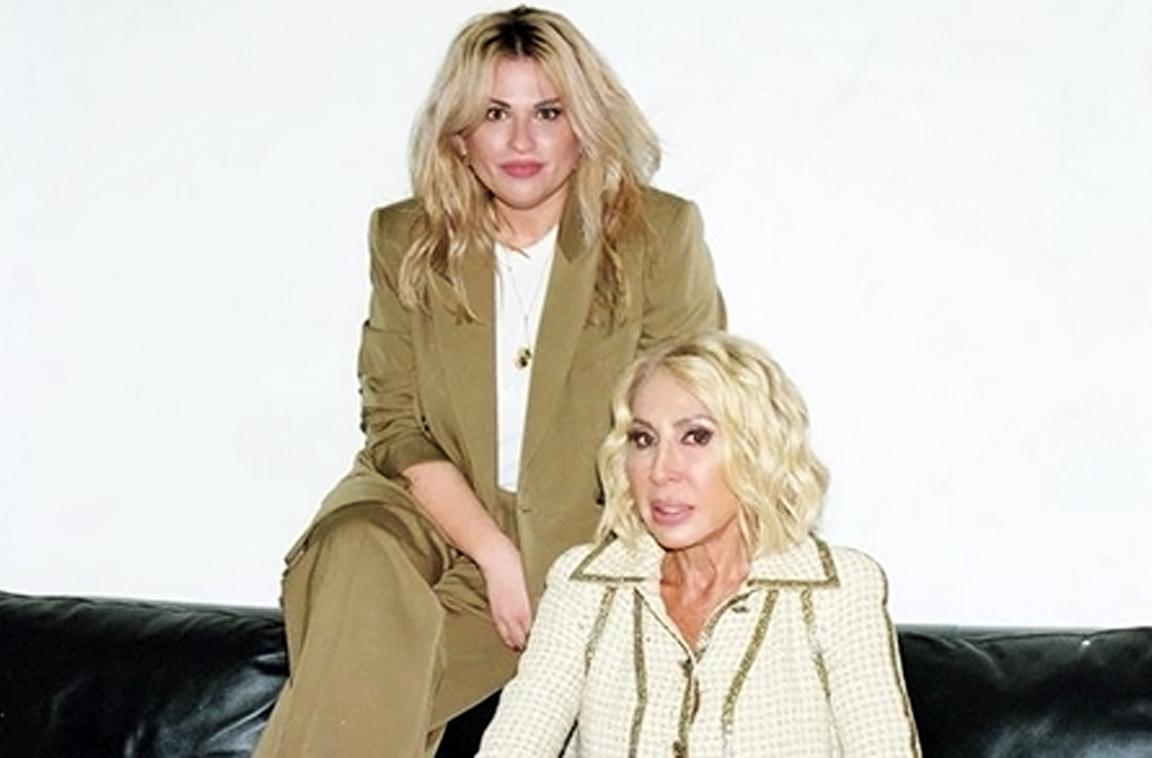 Laura Bozzo con su hija Victoria
