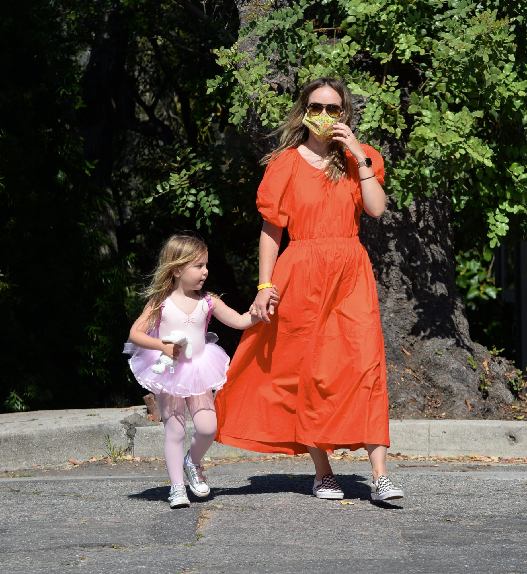 Olivia Wilde, look, cuarentena, Los Angeles