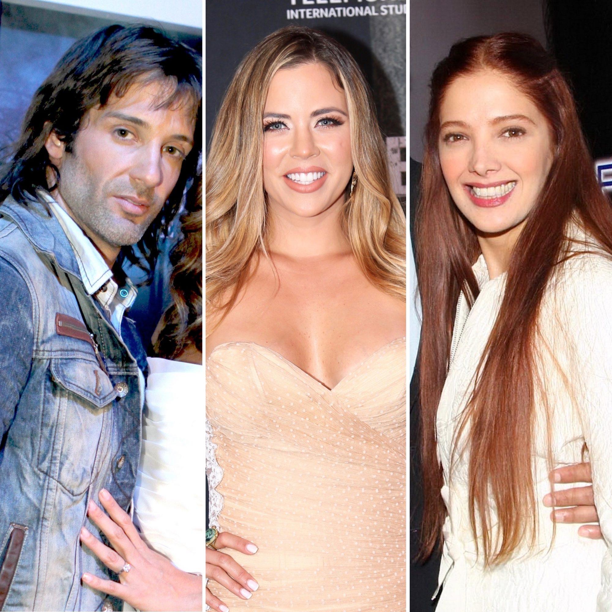 Segundo Cernadas, Ximena Duque y Adela Noriega
