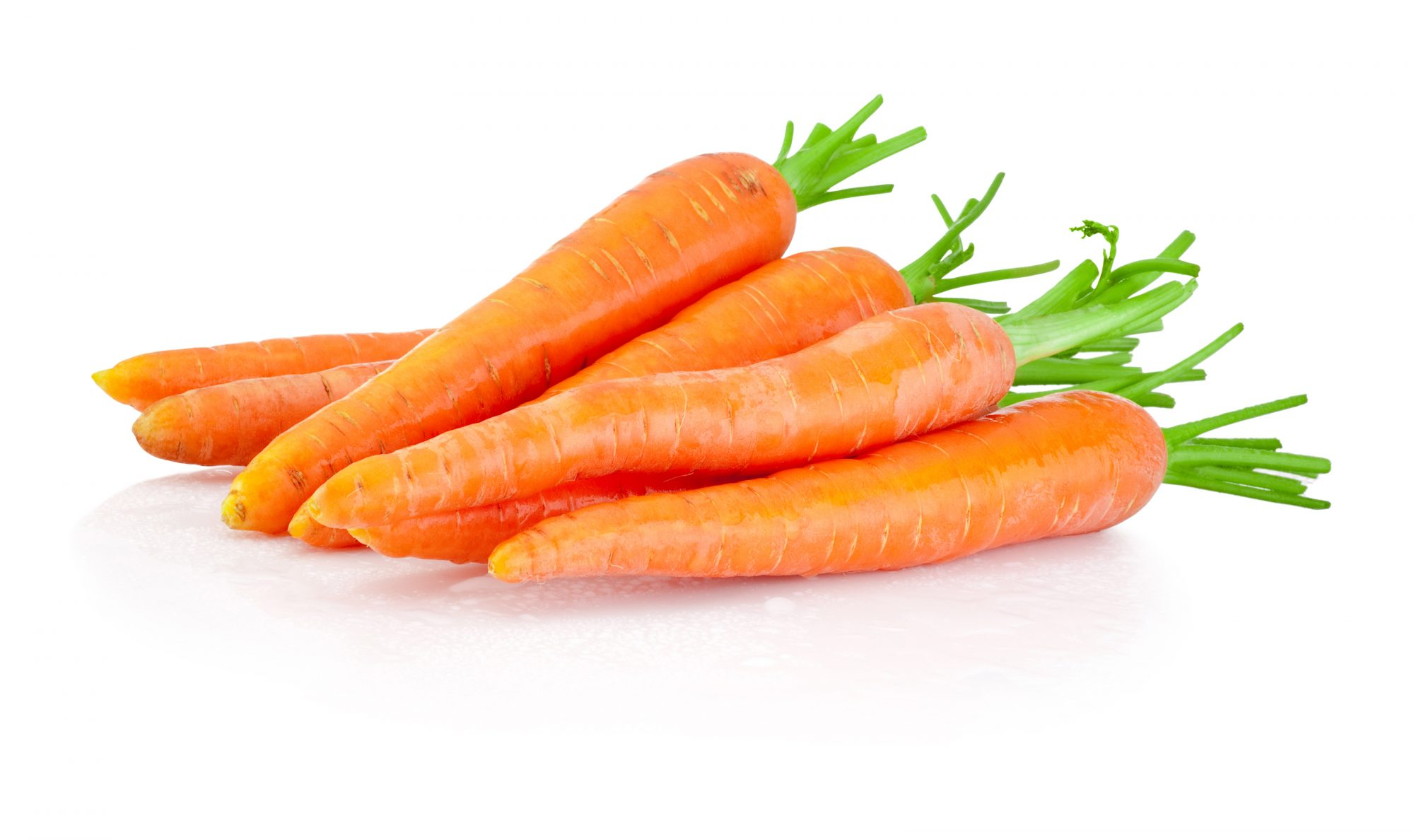 zanahoria, piel, radiante