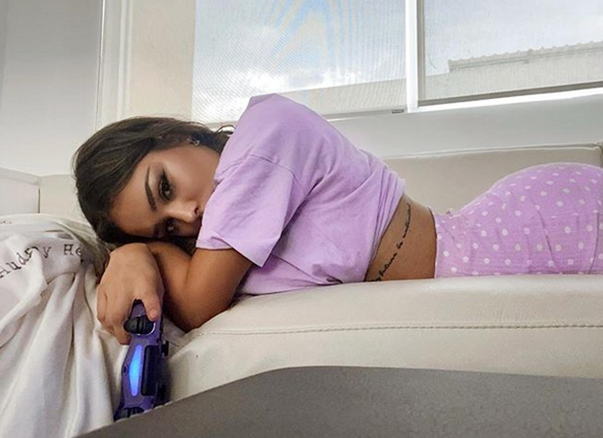 Danna Paola deprimida