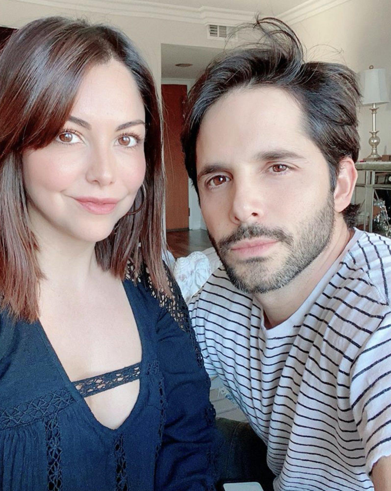 Ilean Almaguer y Lucas Velasquez