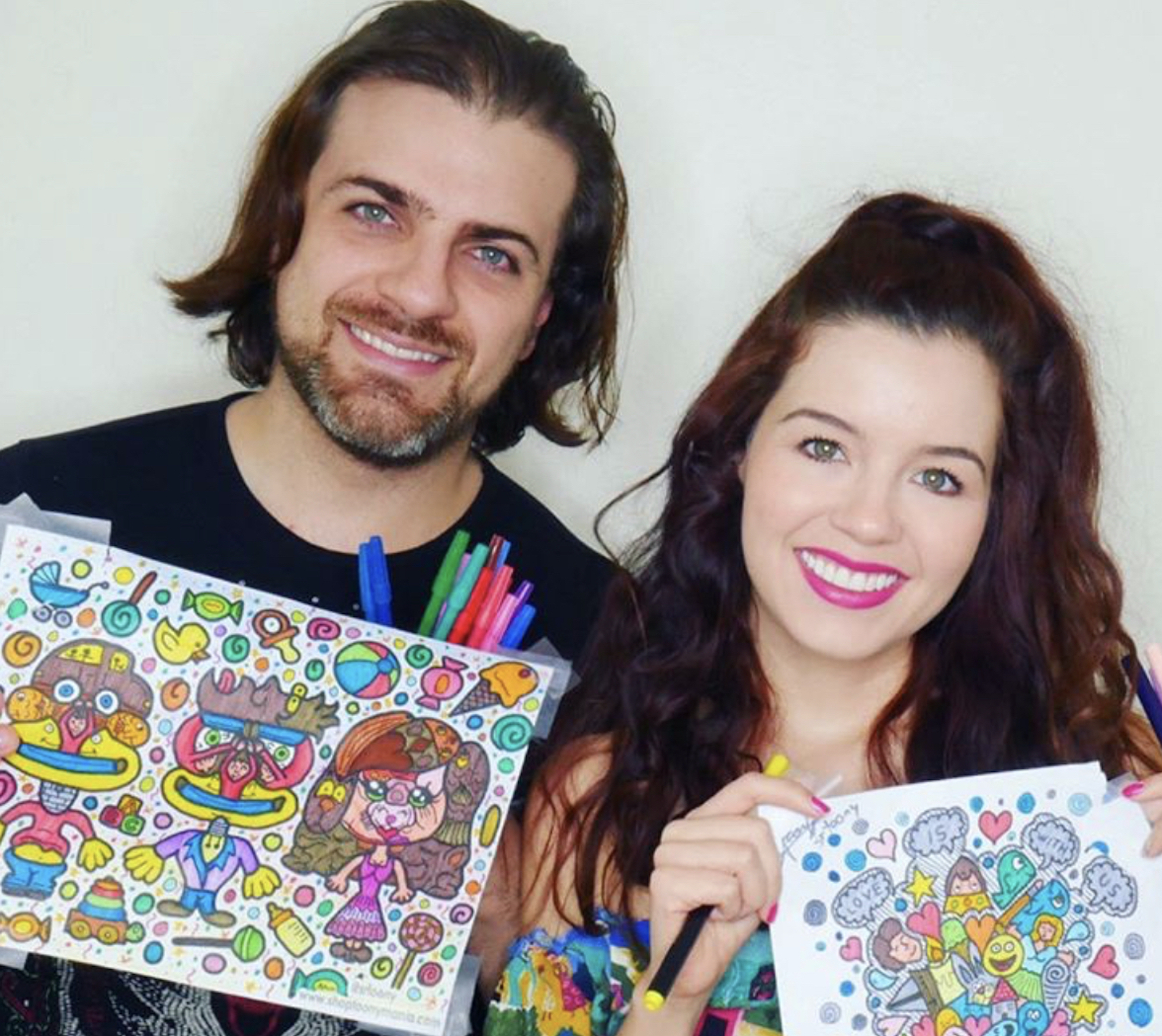 Pablo Azar y Ana Carolina Grajales