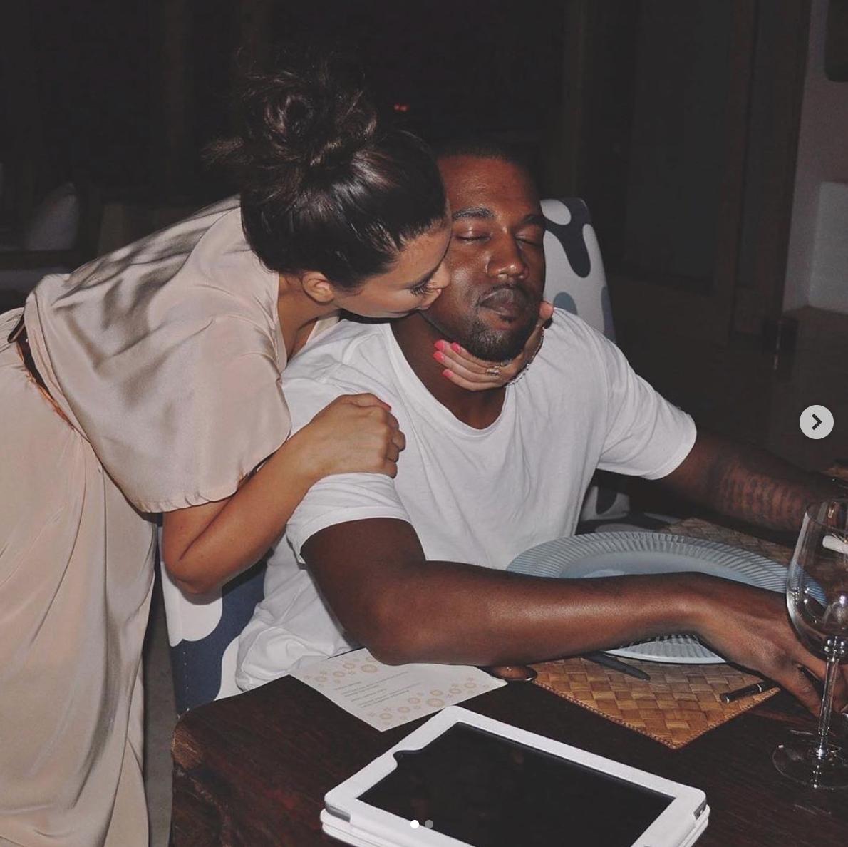 kim kardashian kanye west aniversario