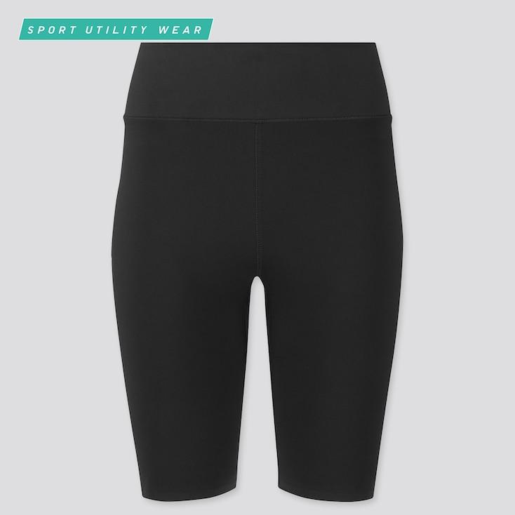 Uniqlo black biker shorts