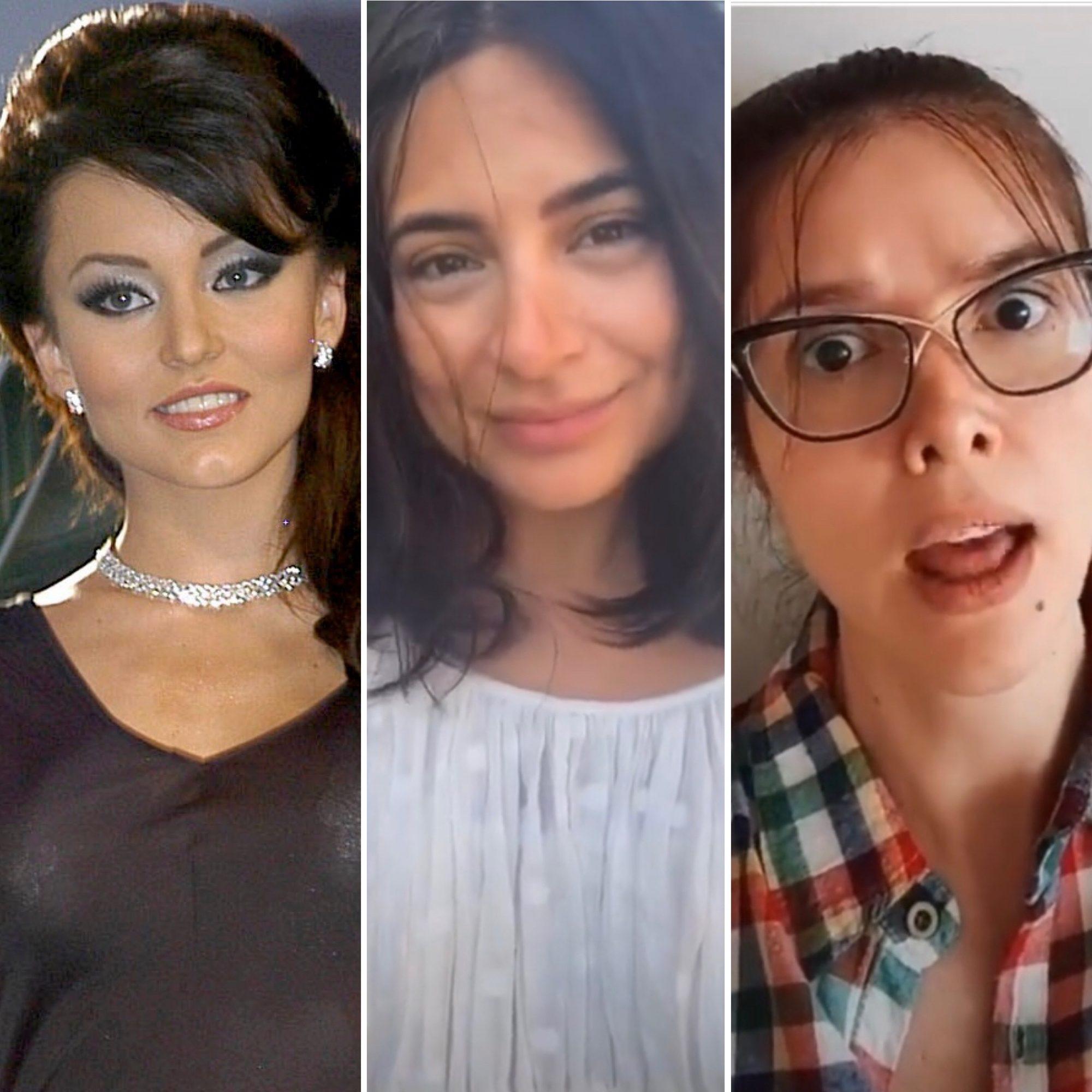 Angelique Boyer, Ana Brenda y Marlene Favela