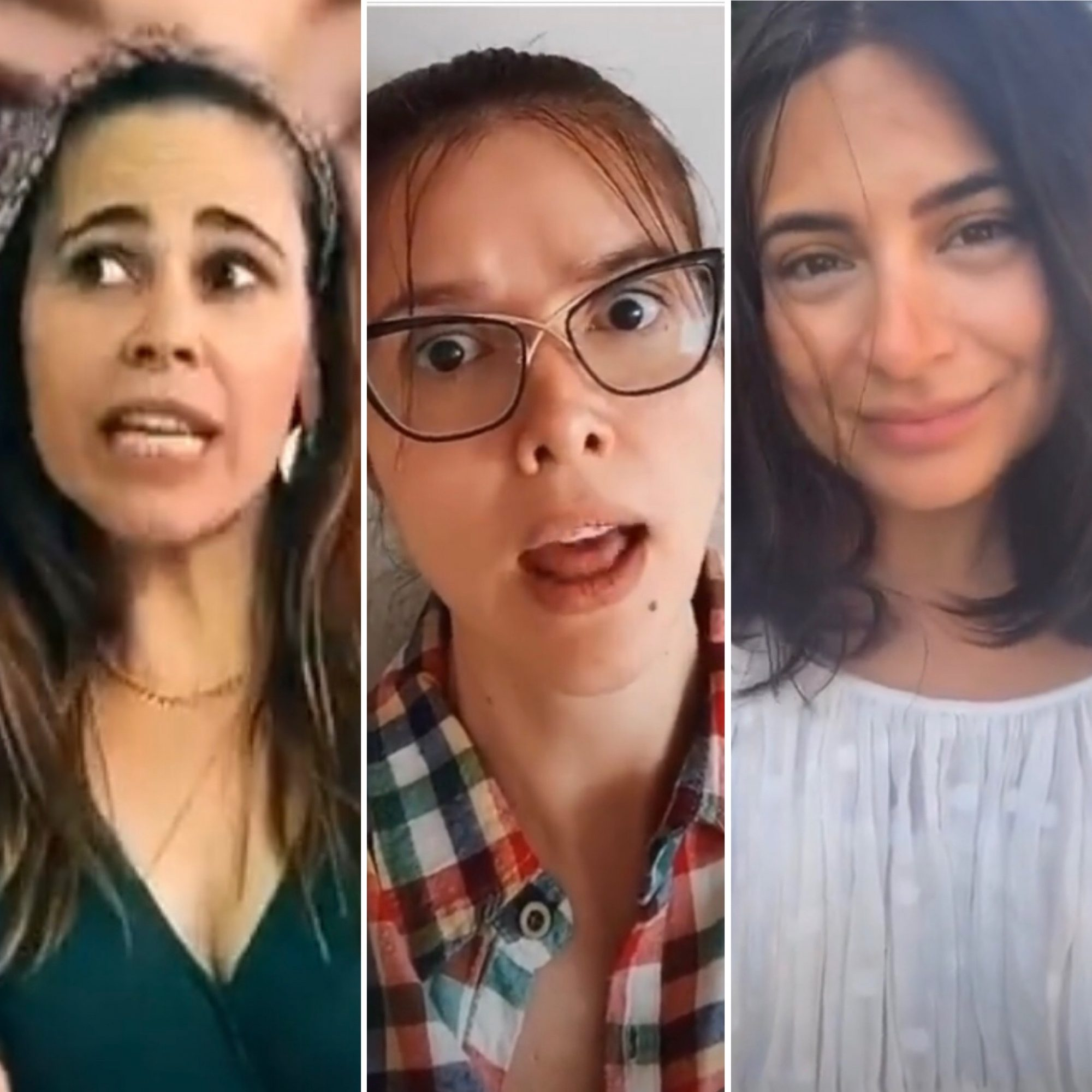 Margarita Magaña, Marlene Favela y Ana Brenda