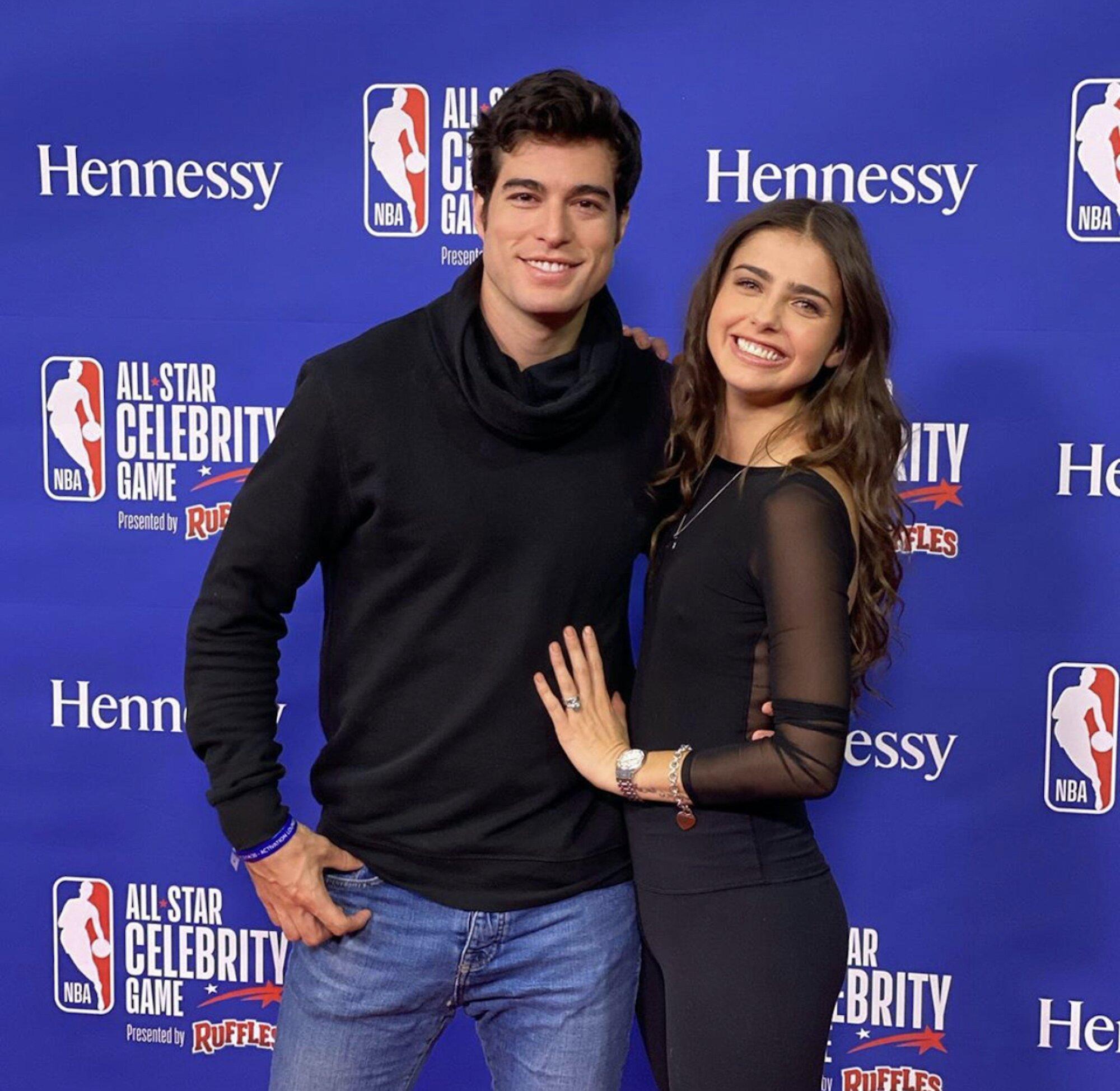 Danilo Carrera i Michelle Renaud