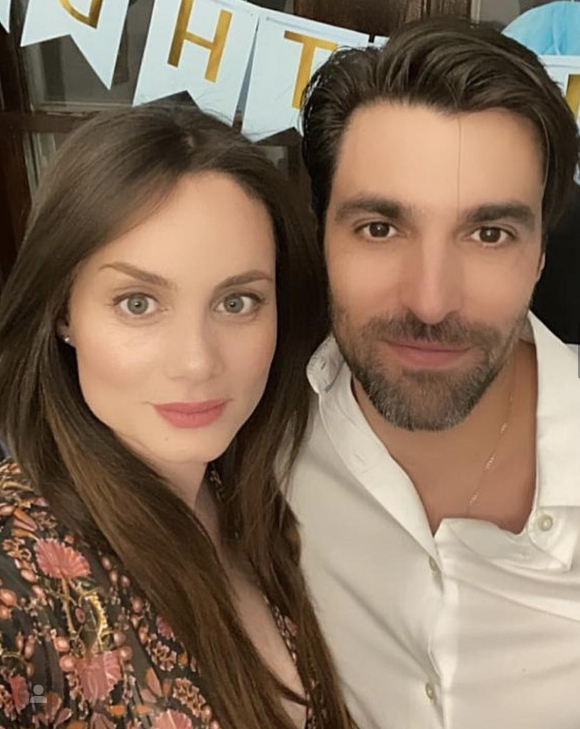 Osvaldo de León y su esposa Victoria Camacho