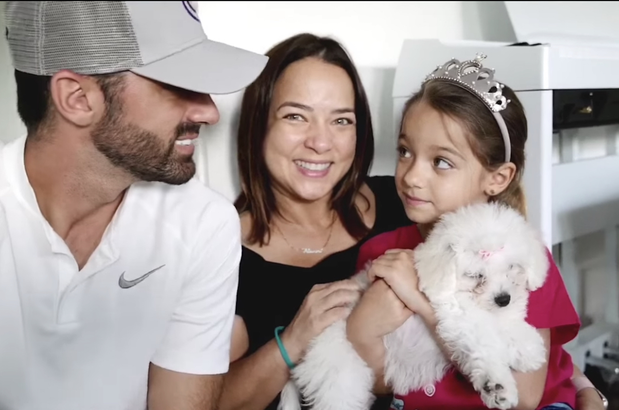 Adamari López, Toni Costa y su hija