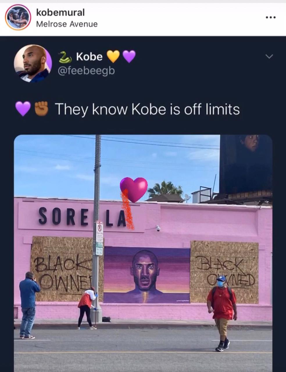 Mural Kobe Bryant