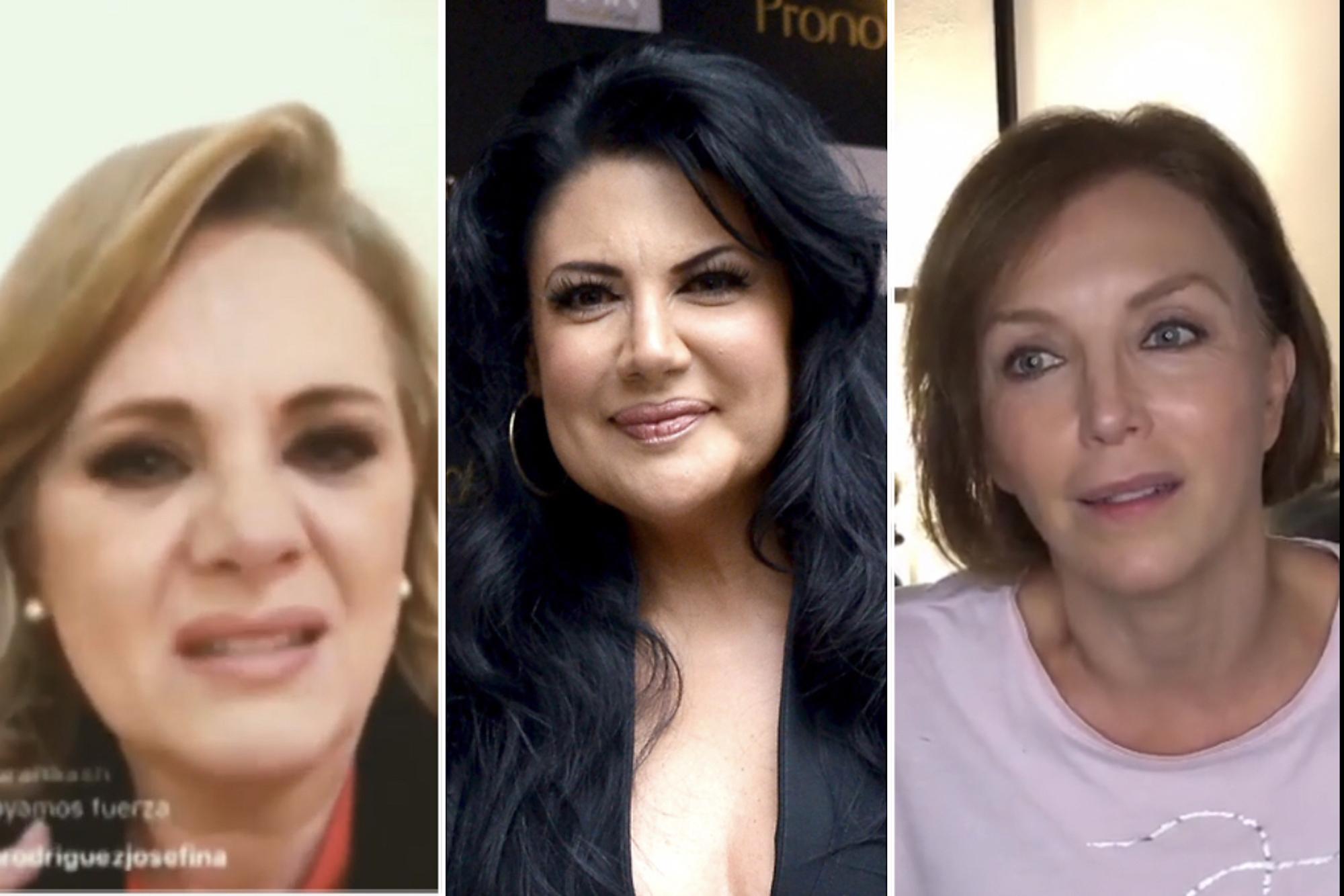 Erika Buenfil, Alejandra Ávalos y Laura Flores