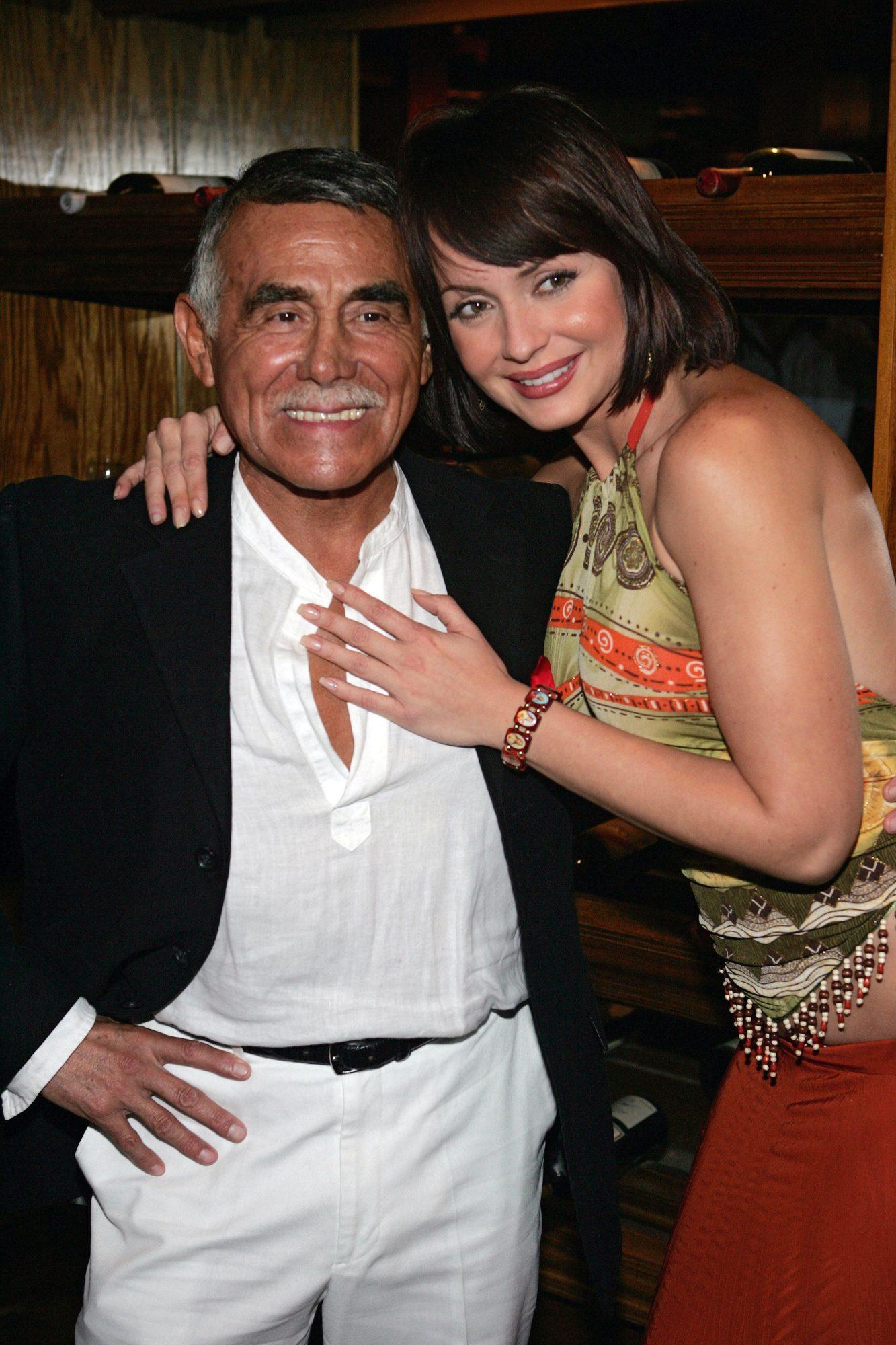 Héctor Suárez y Gaby Spanic
