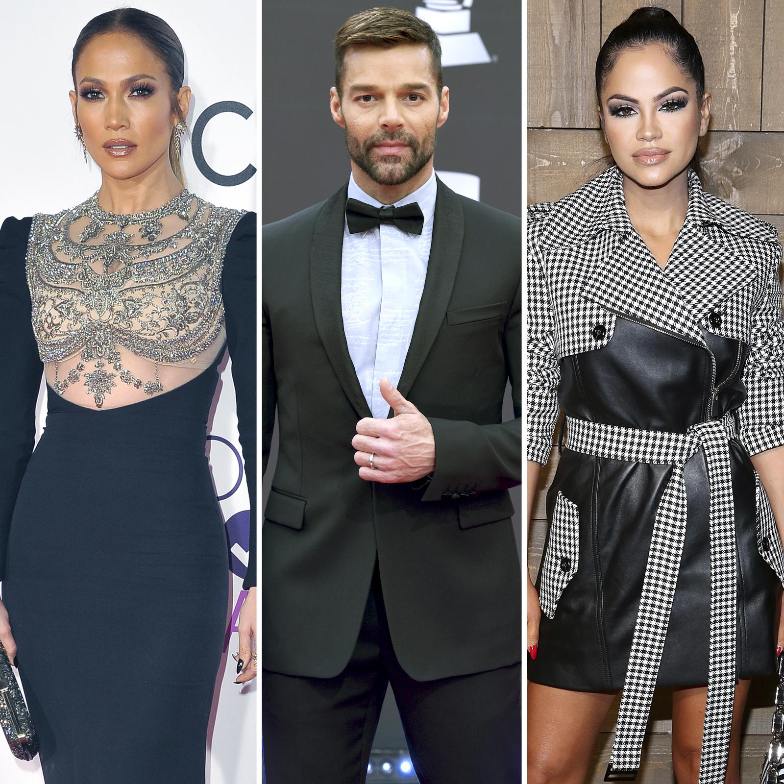 Jennifer Lopez, Ricky Martin y Natti Natasha