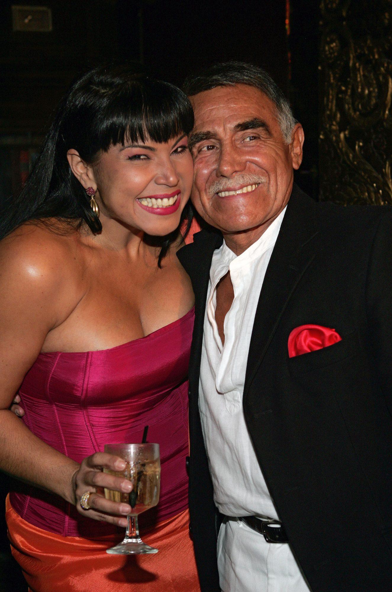 Liliana Rodríguez y Héctor Suárez