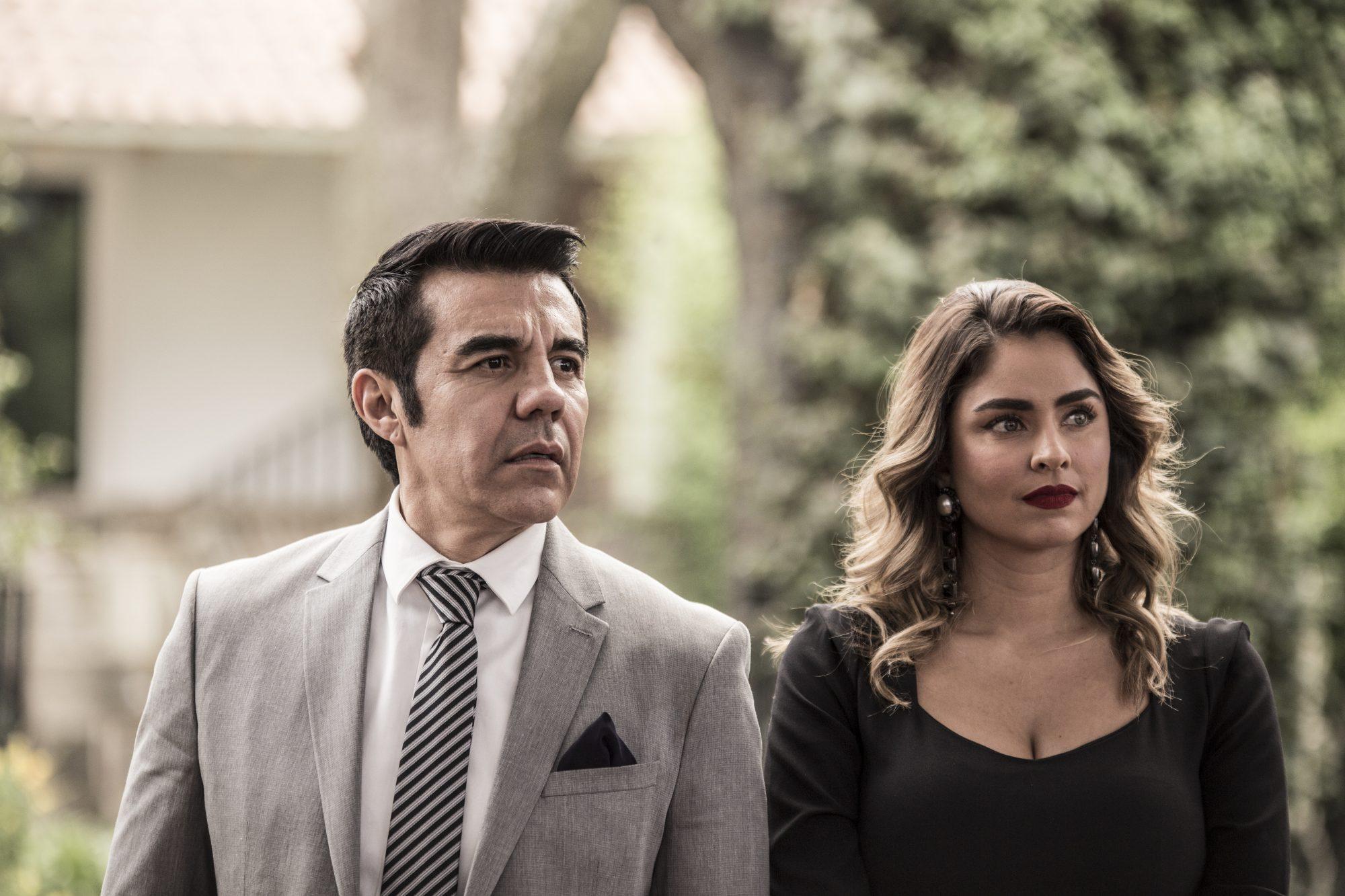 Claudia Martín y Adrián Uribe