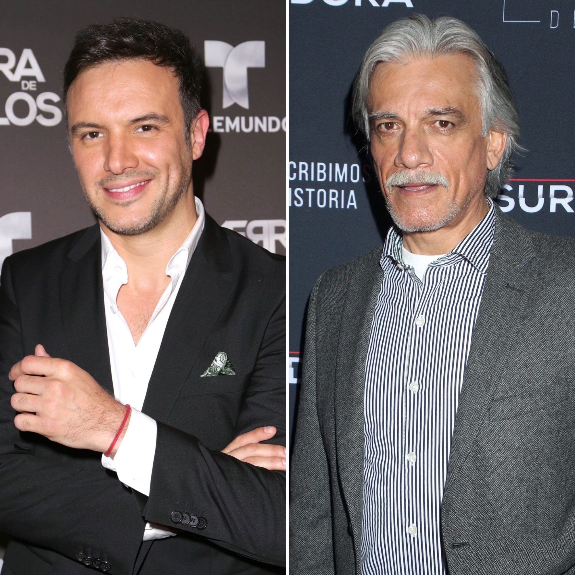 Alejandro de la Madrid y Juan Carlos Barreto