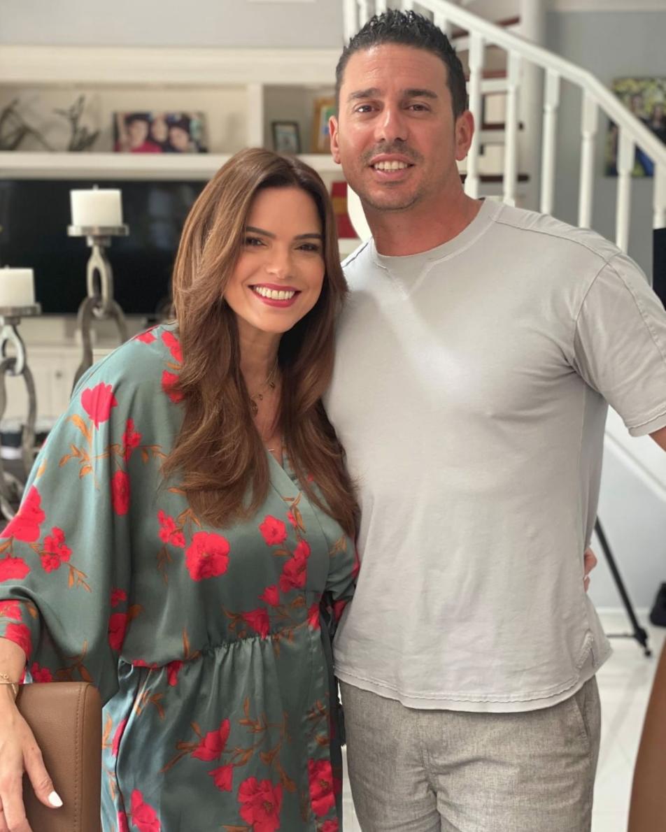 Rashel Diaz y su esposo Carlos